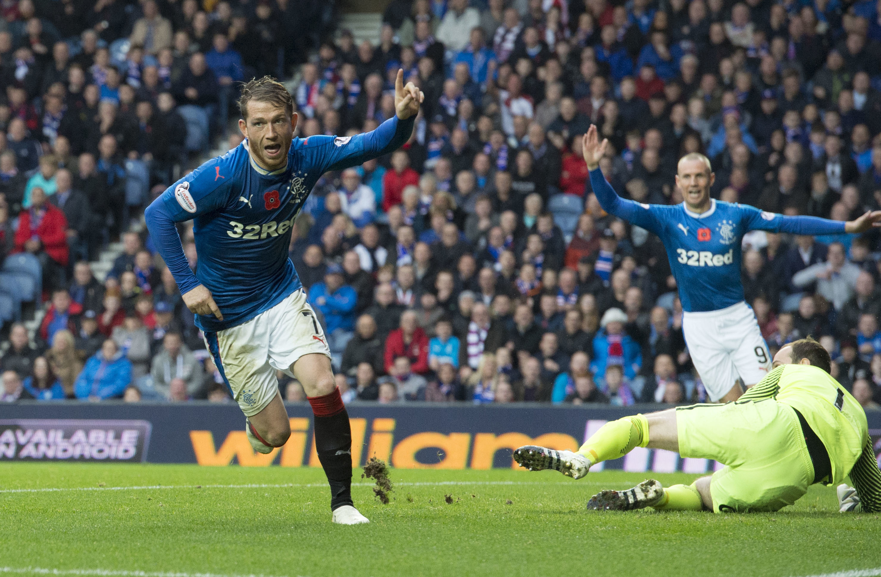 Rangers' Joe Garner (SNS Group / Alan Harvey)