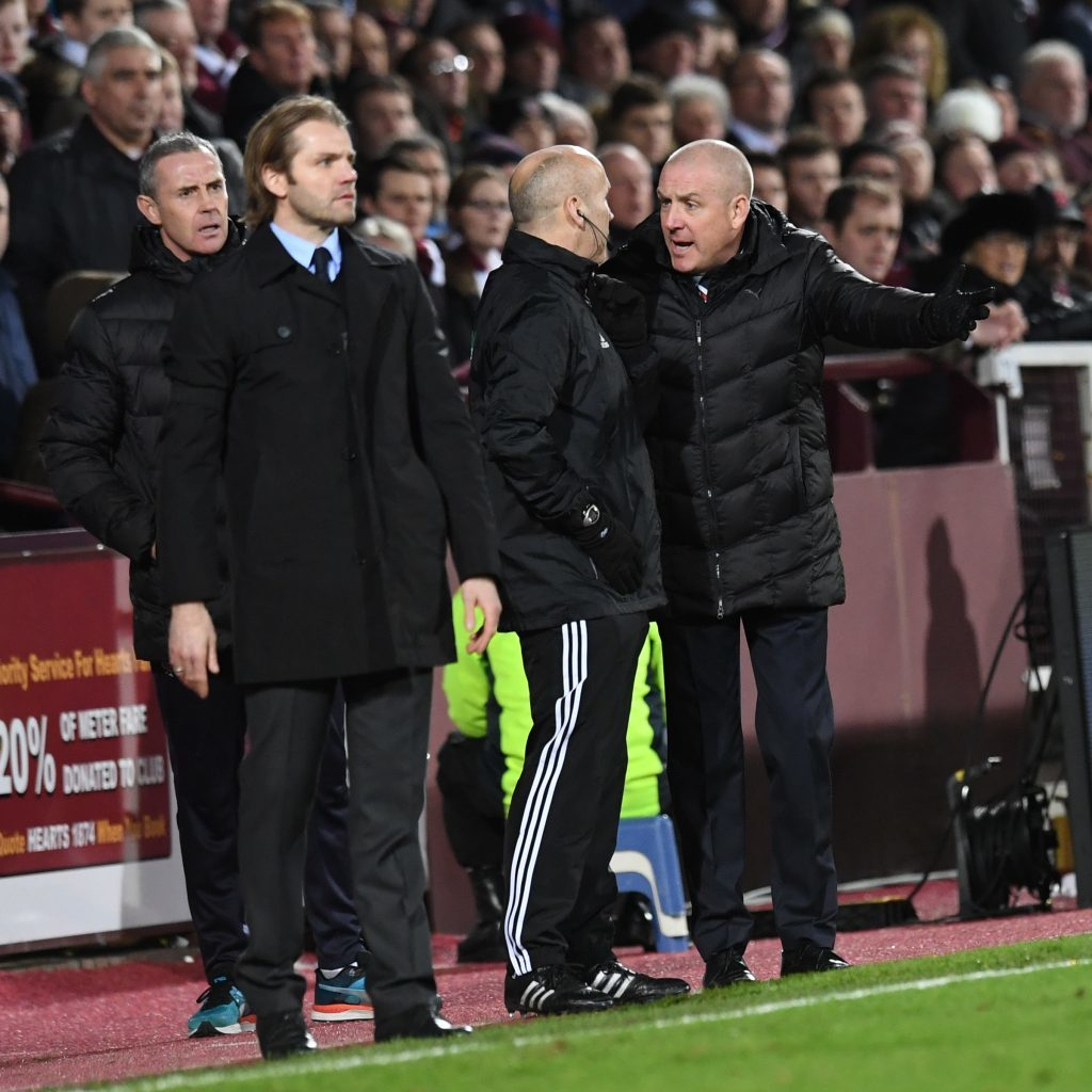 Hearts beat Rangers in Robbie Neilson's expected final game