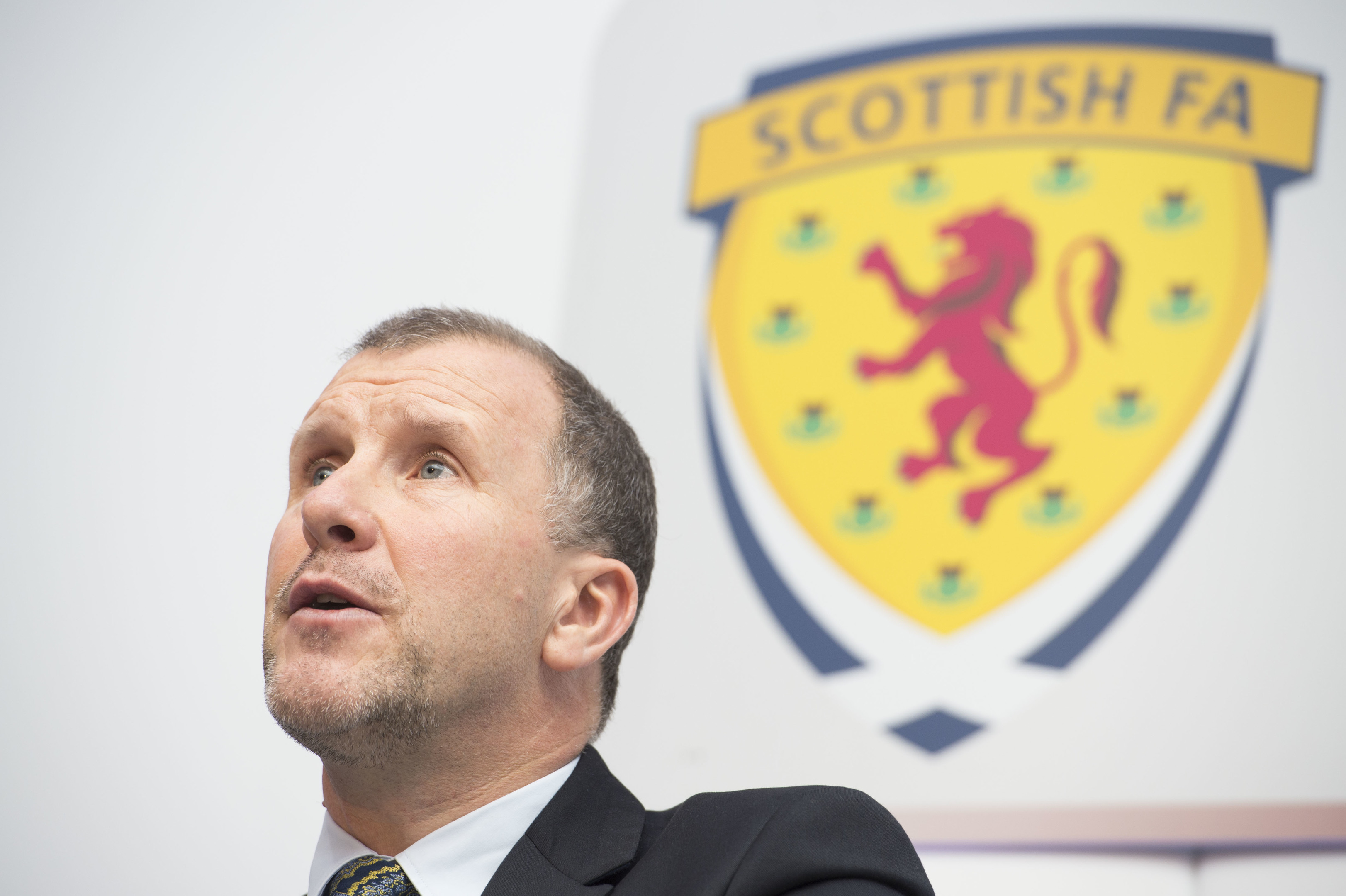 Scottish Football Association Chief Executive Stewart Regan (SNS Group / Bill Murray)