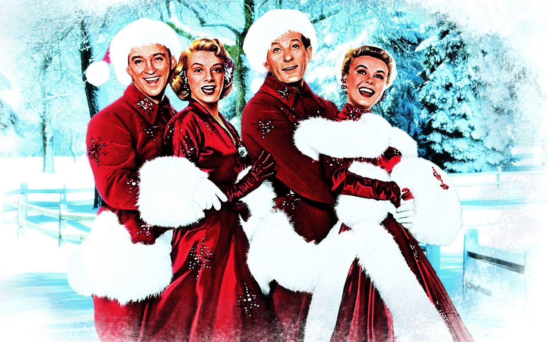 Bing Crosby, Rosemary Clooney, Dany Kaye and Vera Elllen in White Christmas, 1954 (Allstar/PARAMOUNT)