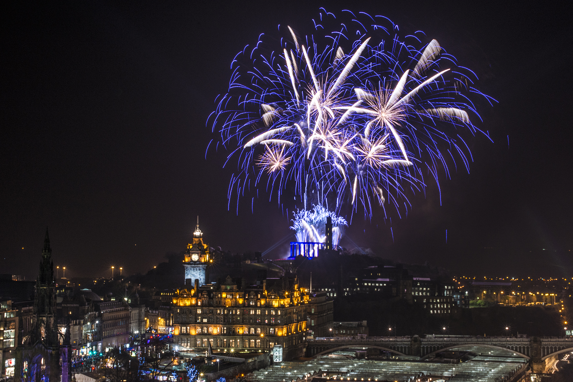 Hogmanay celebrations in Edinburgh (Grant Ritchie)