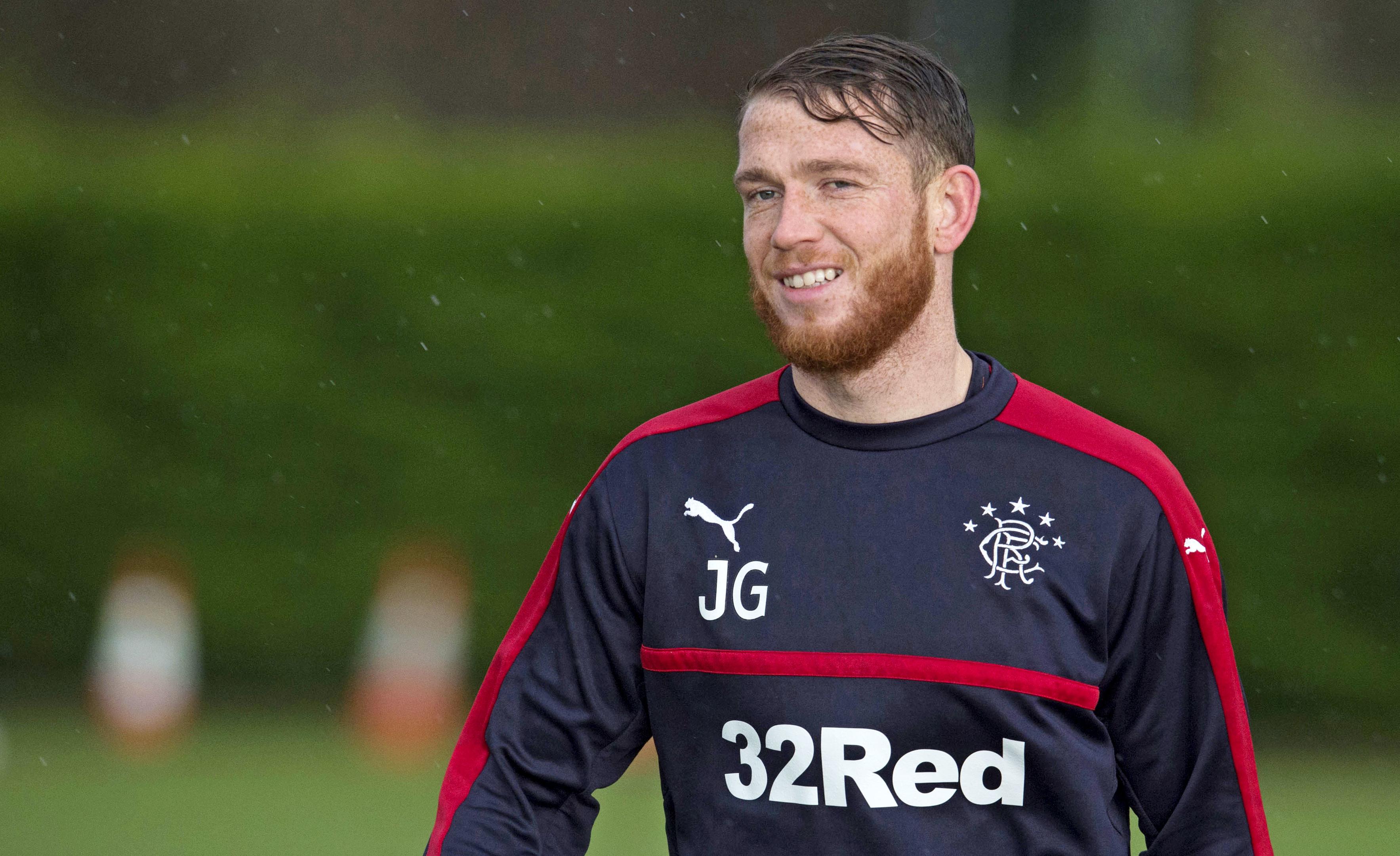 Rangers' Joe Garner (SNS Group)