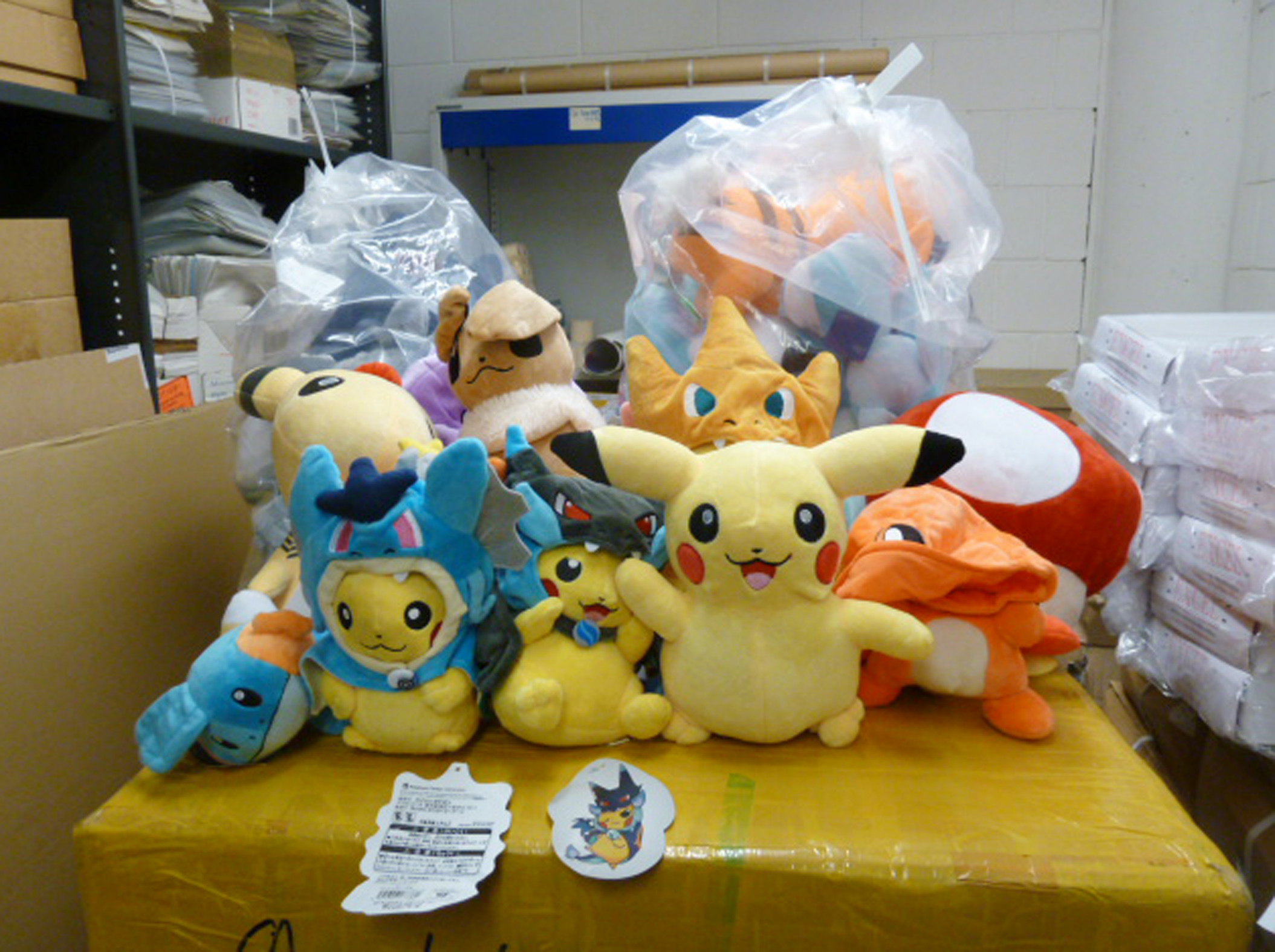 Counterfeit Pokemon goods (Home Office/PA Wire)