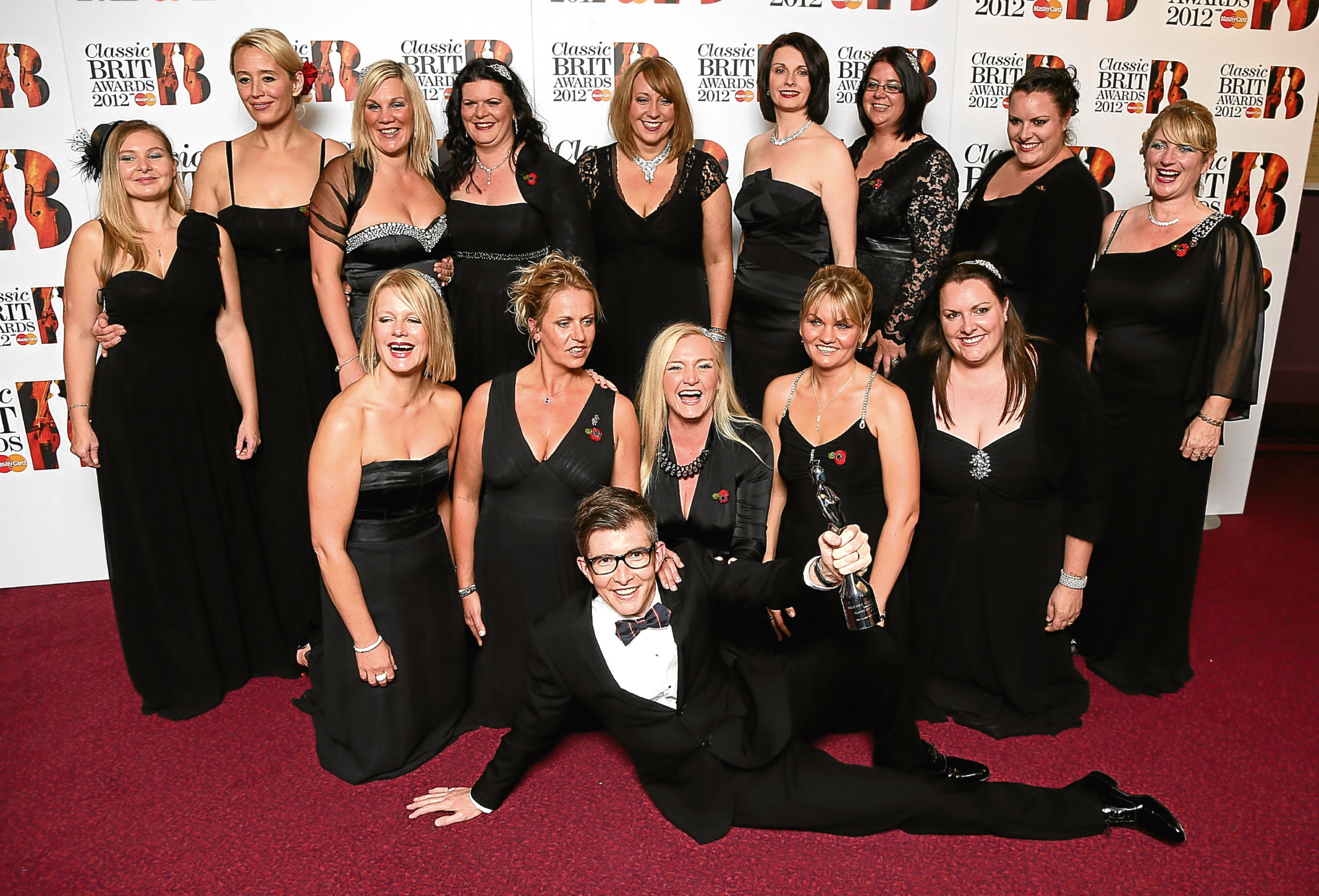 Gareth Malone and the original Military Wives Choir (Chris Jackson/Getty Images)