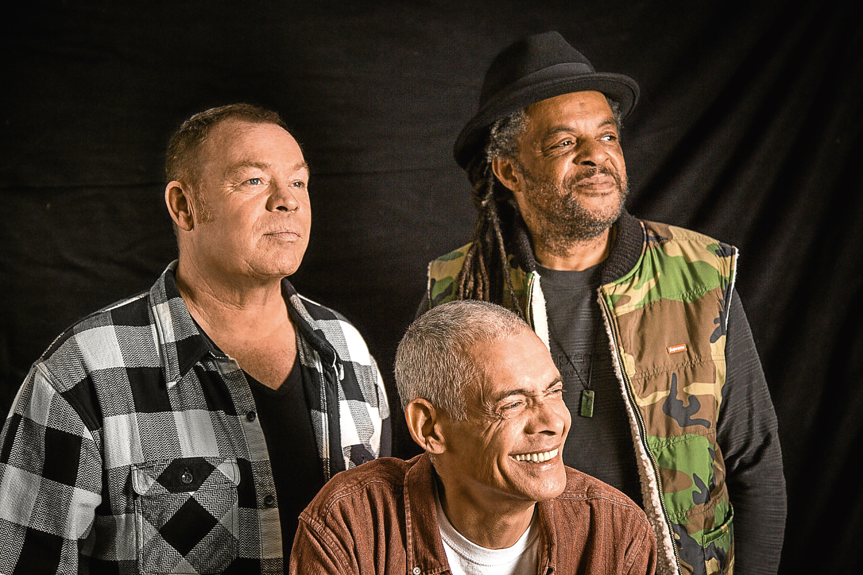 UB40 Unplugged, featuring Ali Campbell, Astro and Mickey Virtue (Picture: Rob O'Connor)