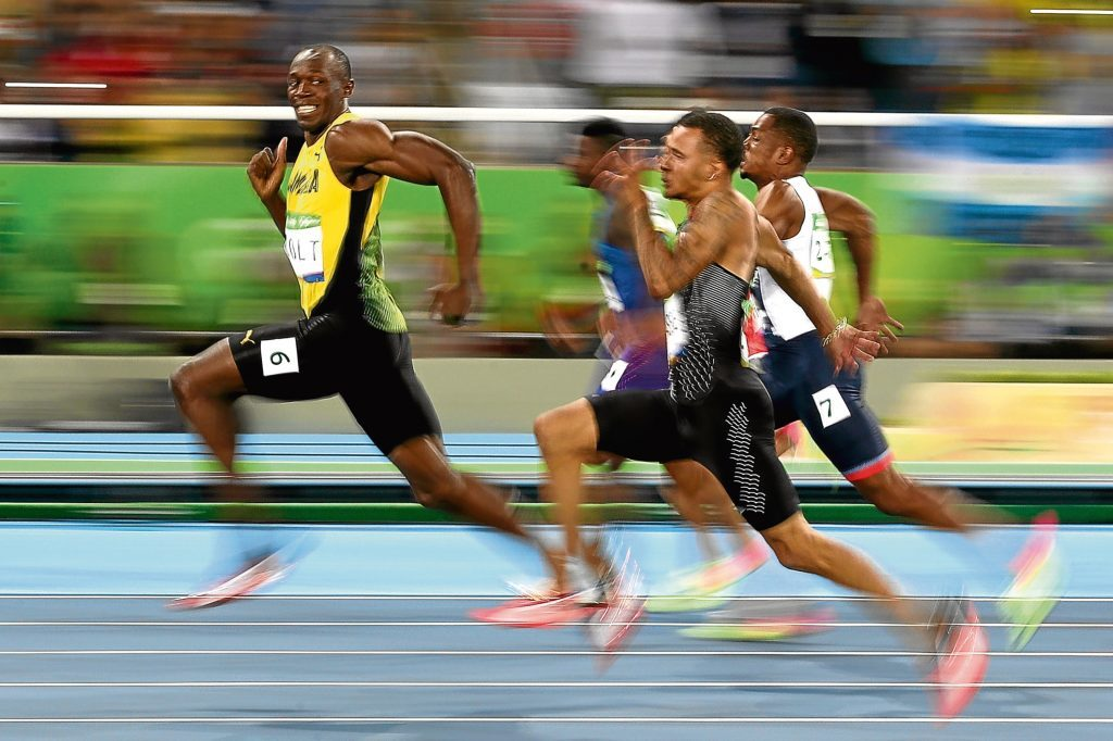 It's all to easy for Usain Bolt (Cameron Spencer/Getty Images)