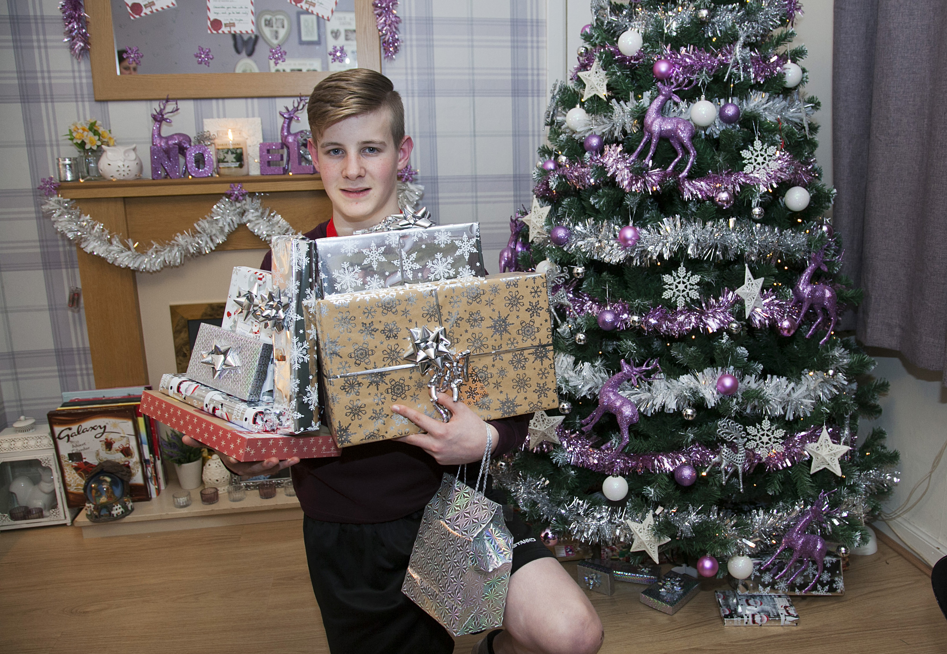 Kyle Cranston raised funds for Cash for Kids (Alistair Linford)