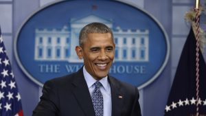 President Obama? I didn't think it possible, says James Naughtie