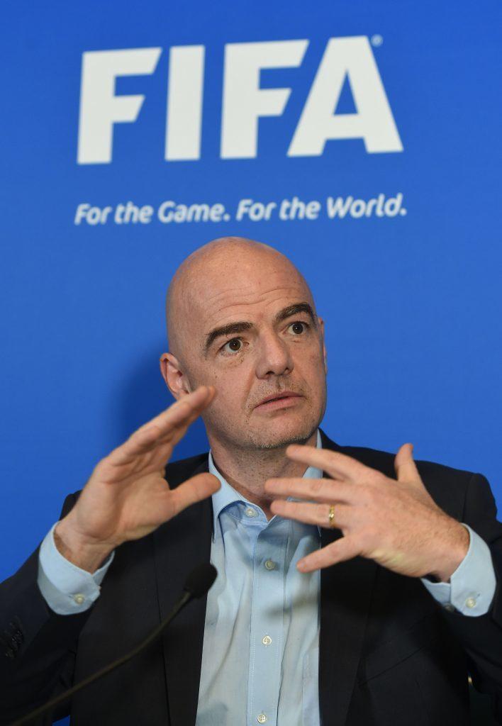 FIFA President Gianni Infantino (Joe Giddens/PA Wire)