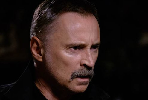 Robert Carlyle as Begbie in T:2 (Tristar Productions)
