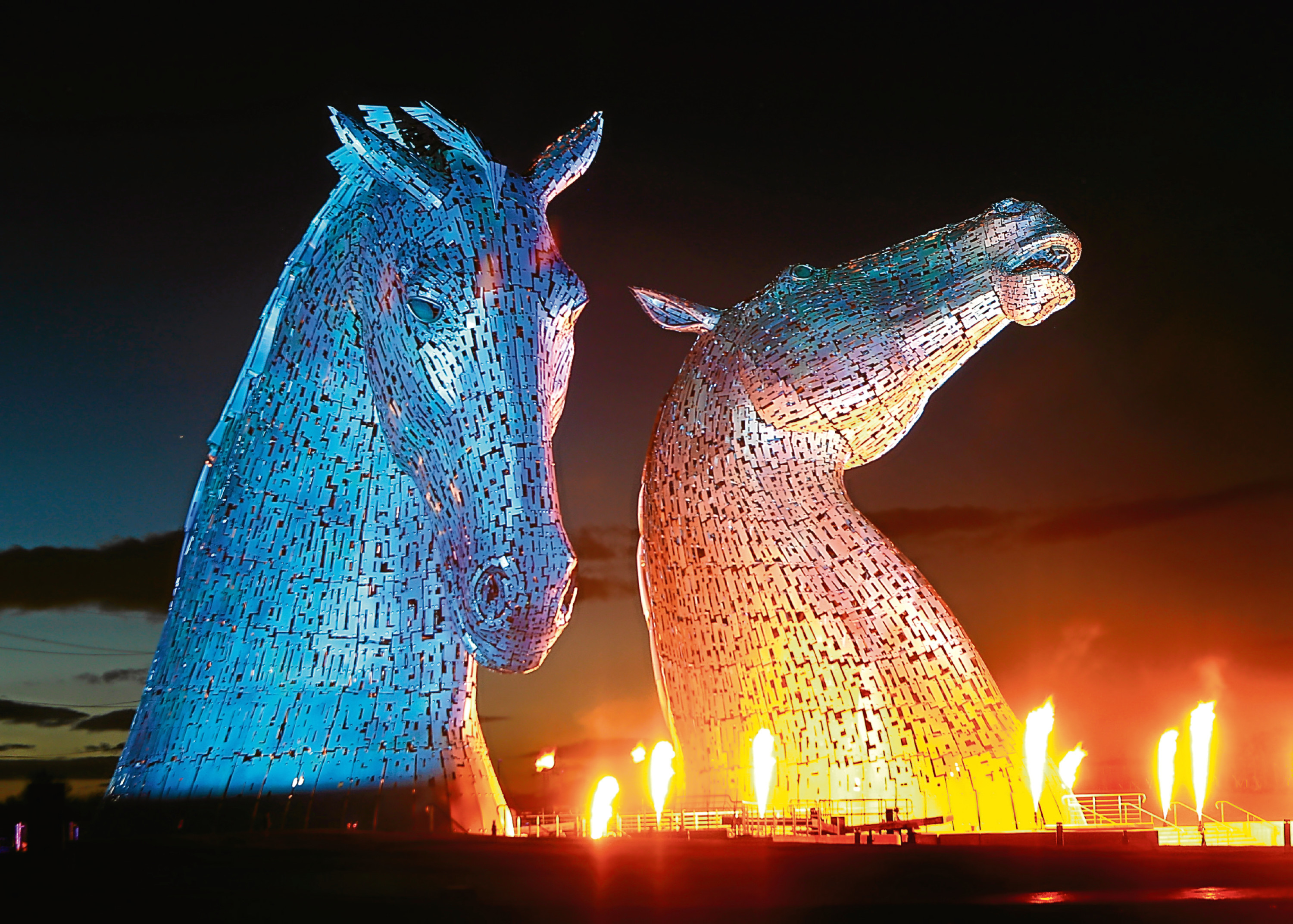 The Kelpies at Helix Park in Falkirk (PA Archive/Press Association)