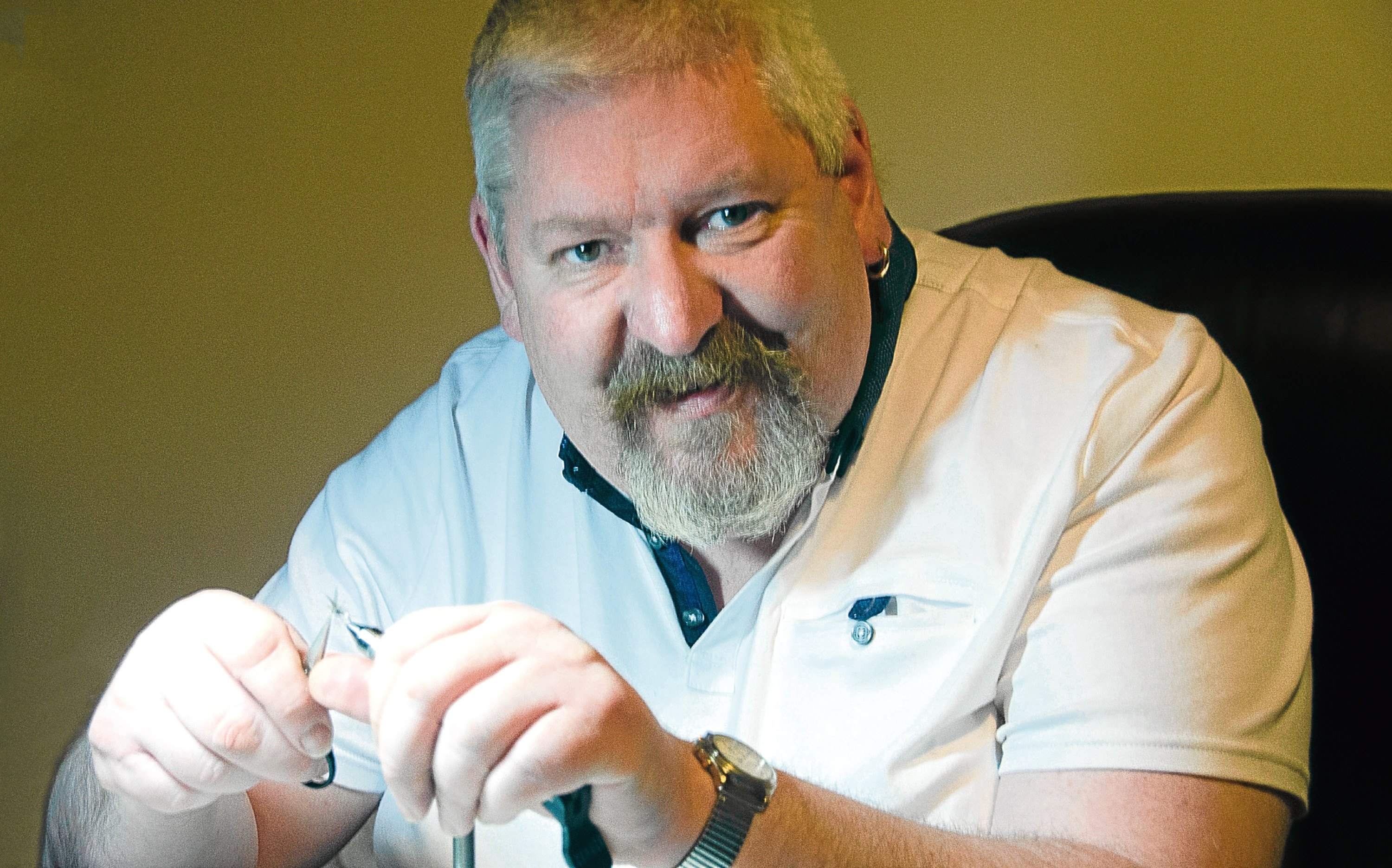 Alan Bithell is using his experiences to help other veterans