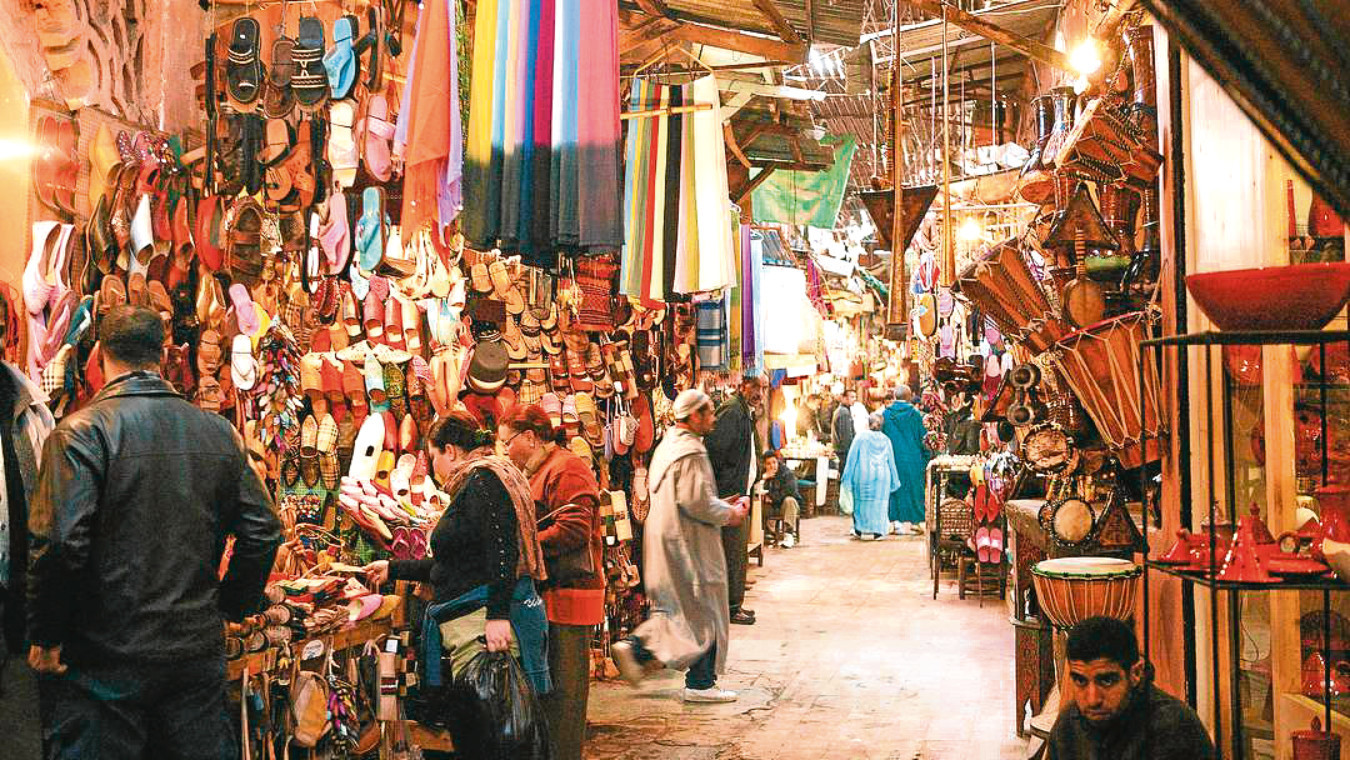 Visiting the market town of Taroudant feels like stepping back to the '30s.