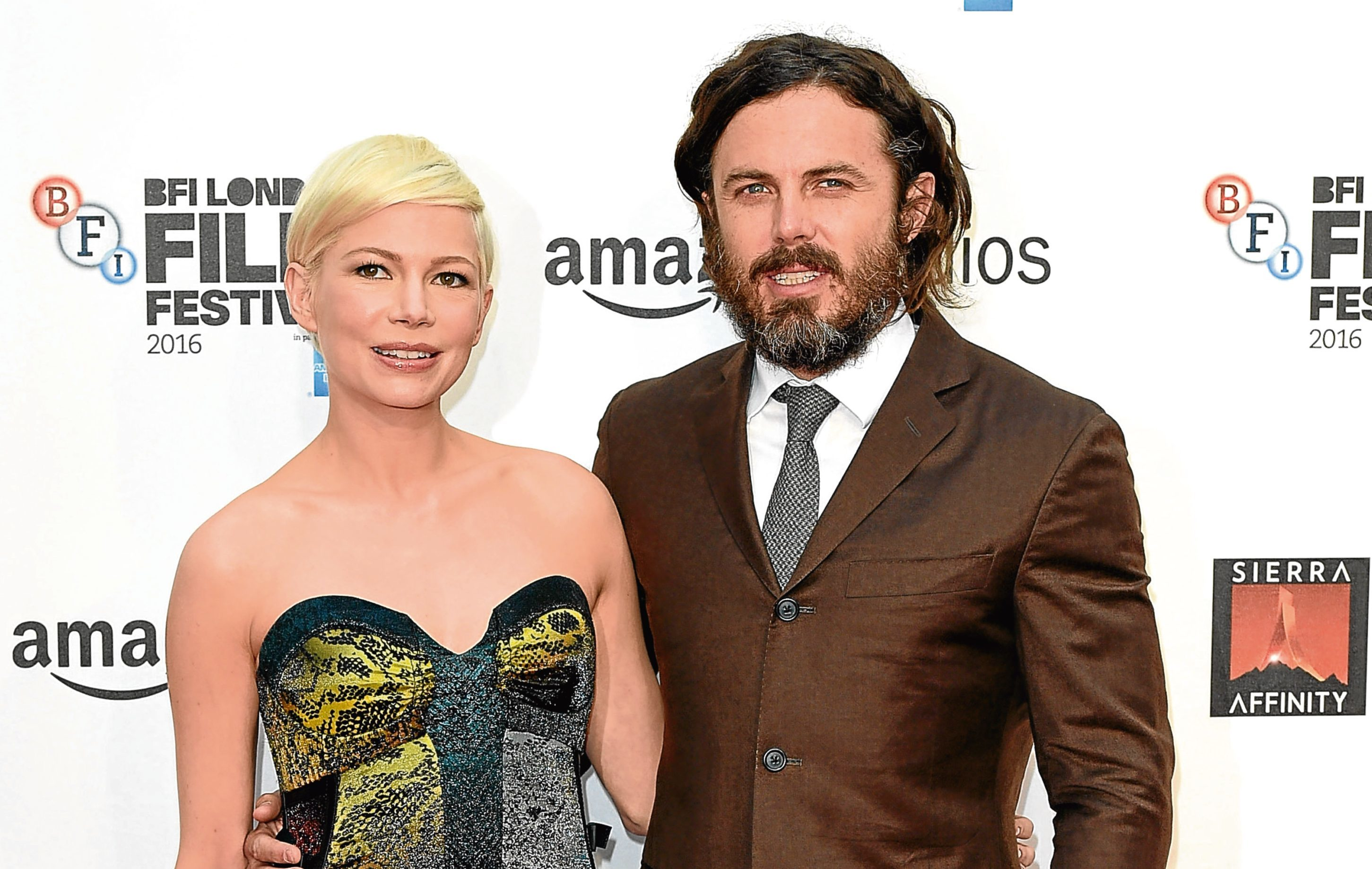 Michelle Williams and Casey Affleck attend the Manchester By The Sea premiere (Karwai Tang/WireImage)