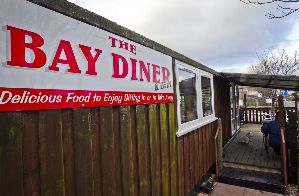 The outside of the BAy Diner (Andrew Cawley)