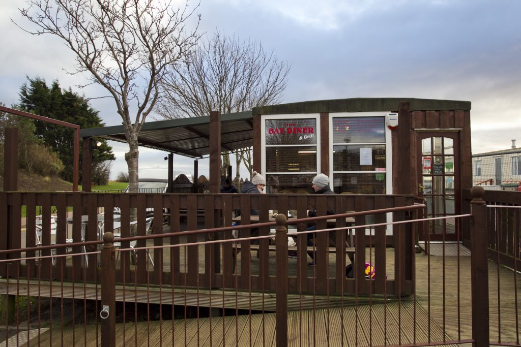 A cosy caravan makes for a quirky cafe (Andrew Cawley)