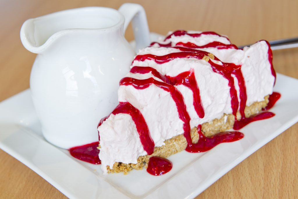 Berry good: Raspberry Cheesecake (Andrew Cawley)
