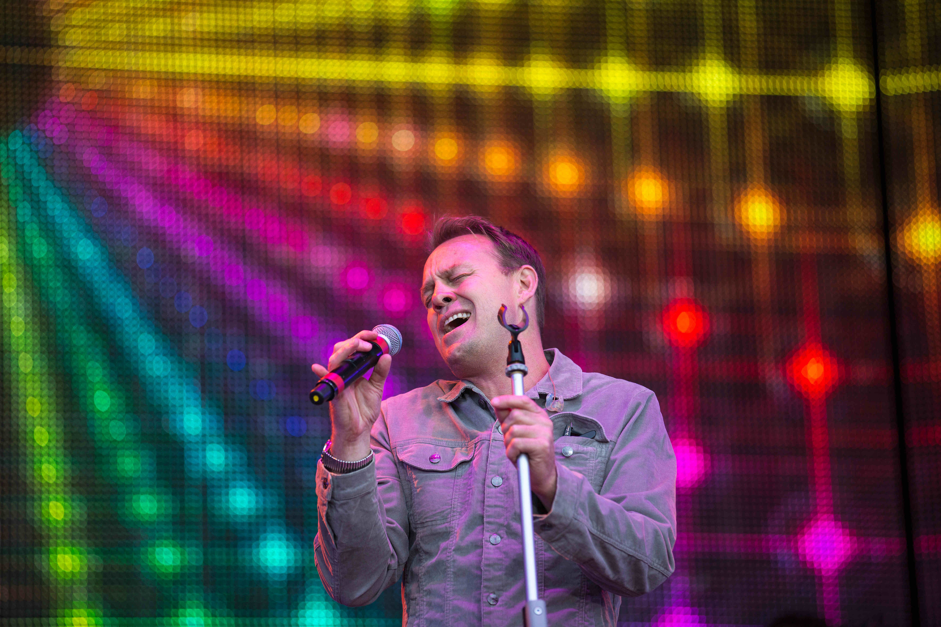 Jason Donovan on stage at Rewind (Justin Moir/Universal News And Sport)