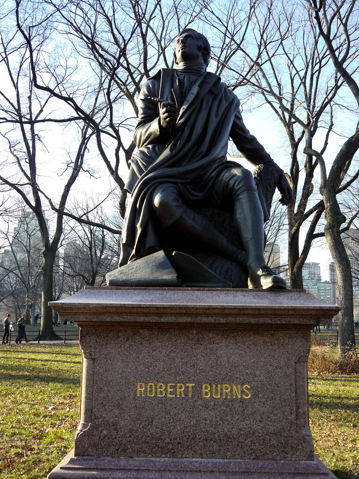 Robert Burns statue, Central Park
