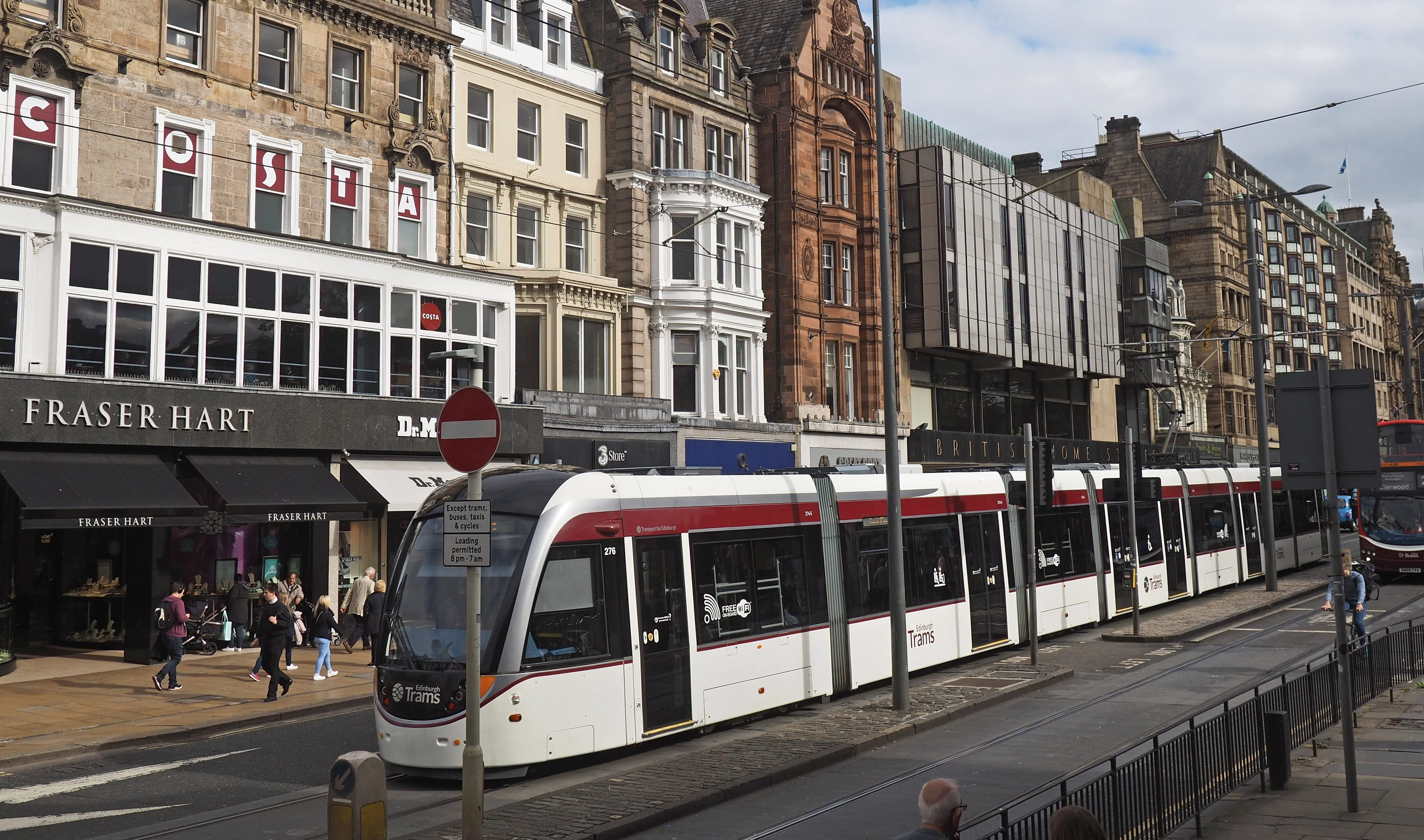 The Edinburgh tram scheme went significantly over budget and was delivered years later than originally planned. (iStock, peterspiro)