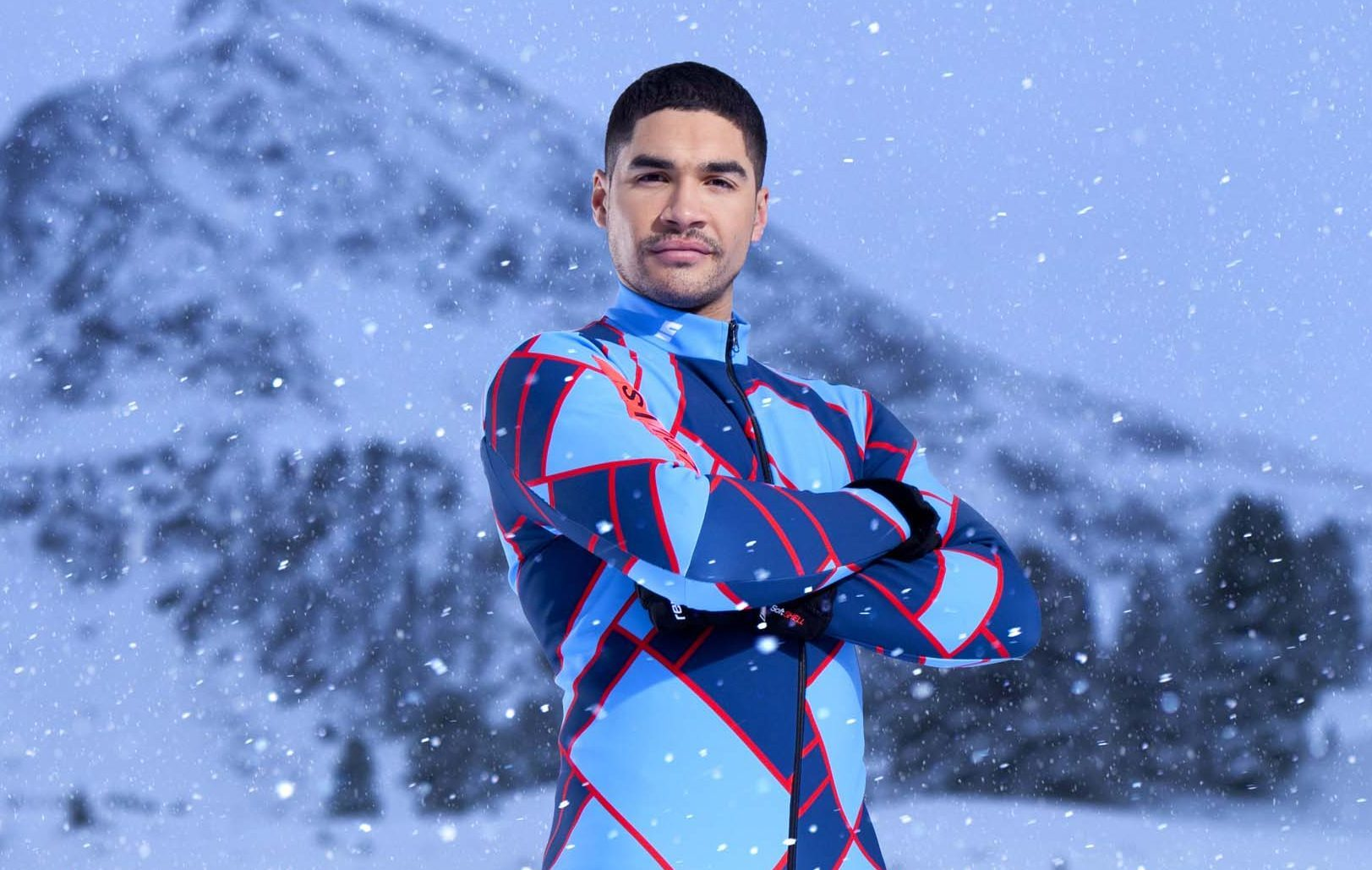 Louis Smith MBE is taking part in this year's edition of The Jump (Channel 4)