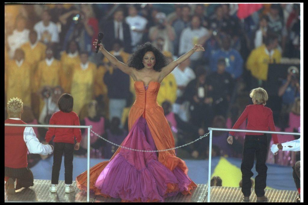 Diana Ross (Al Bello /Allsport)