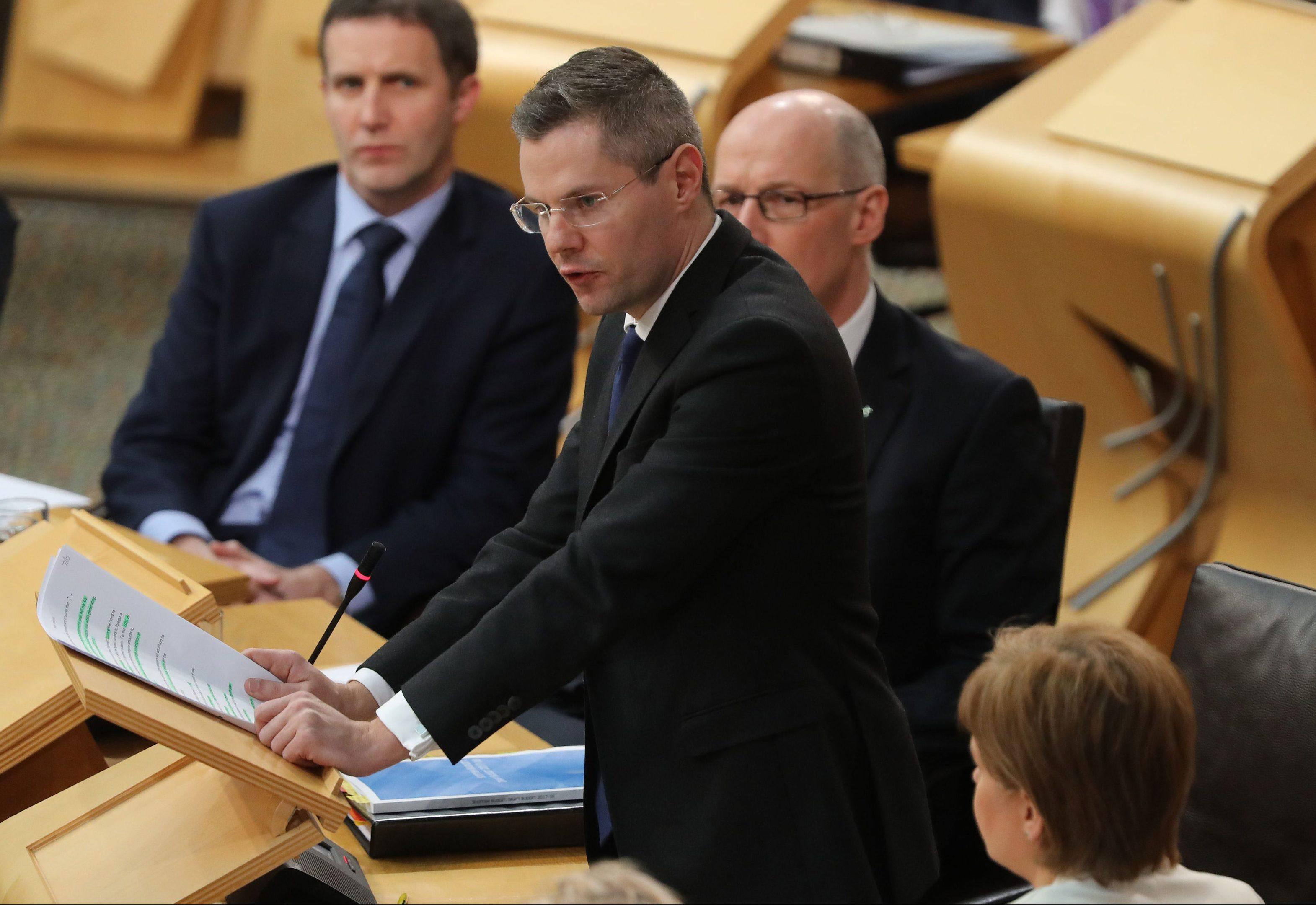 Finance Secretary Derek Mackay (Andrew Milligan/PA Wire)