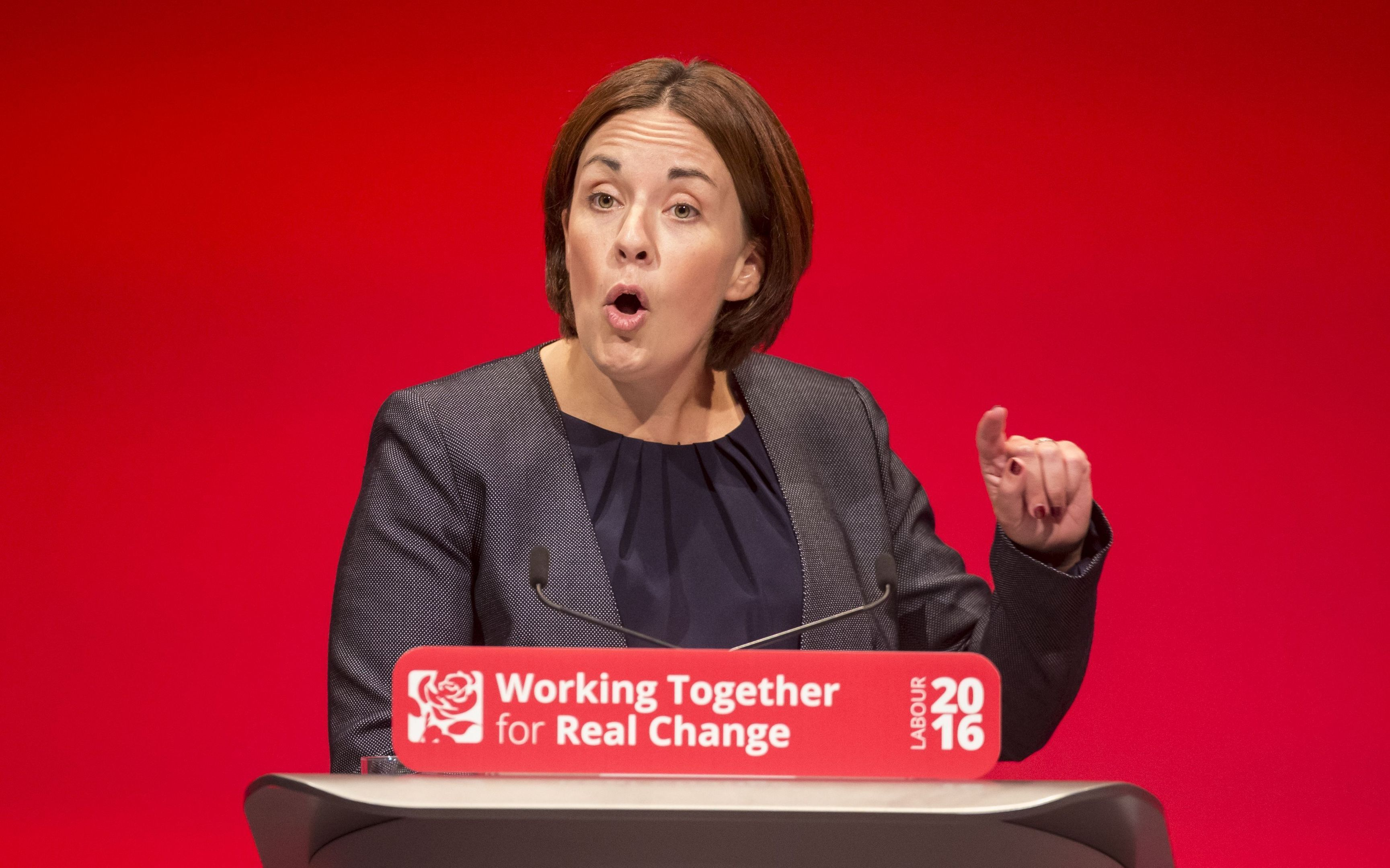 Scottish Labour Leader Kezia Dugdale speaks at the Scottish Labour conference (Danny Lawson/PA Wire)
