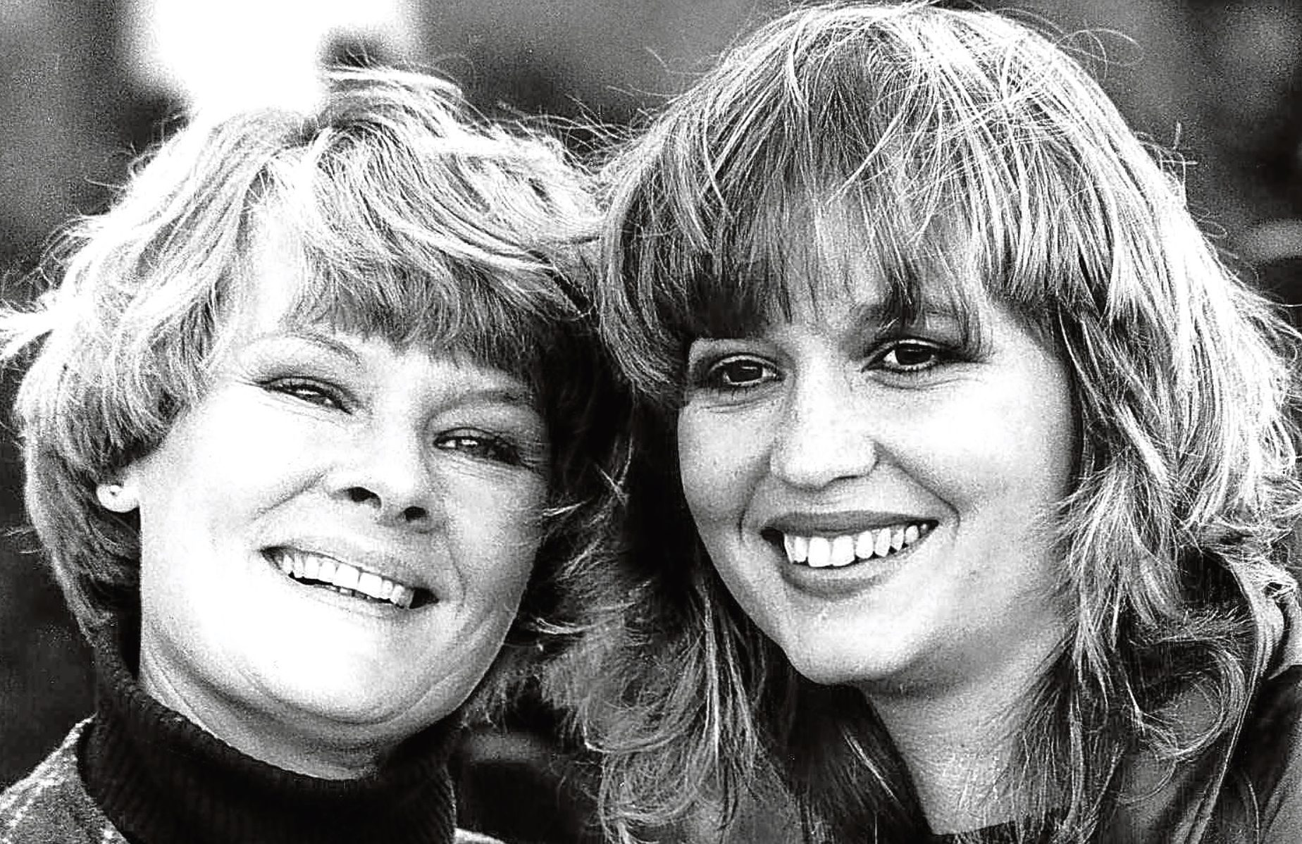 Dame Judi Dench and Susan Penhaligon, 1981 (ITV)