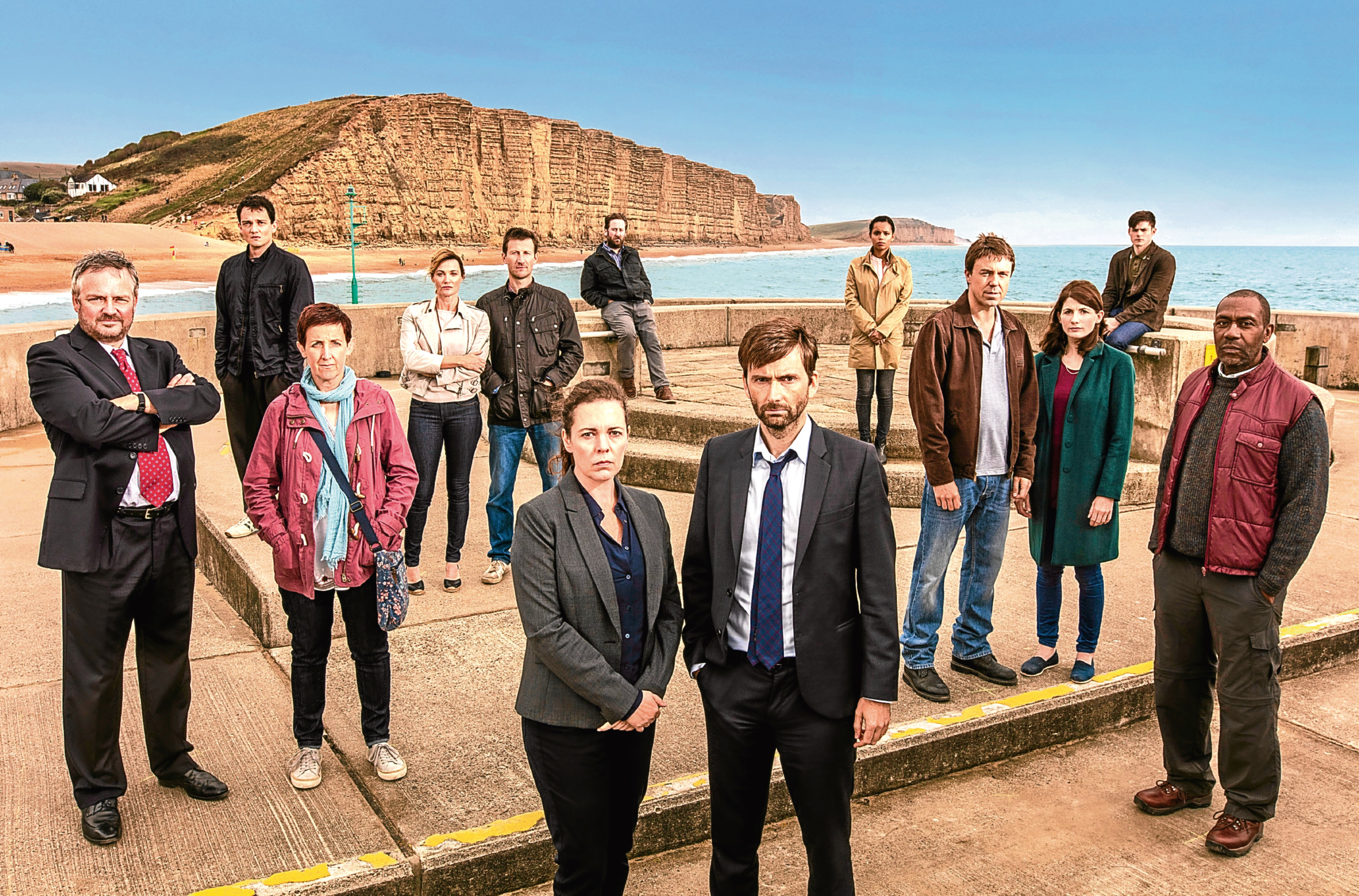 The cast of Broadchurch series 3 (ITV)