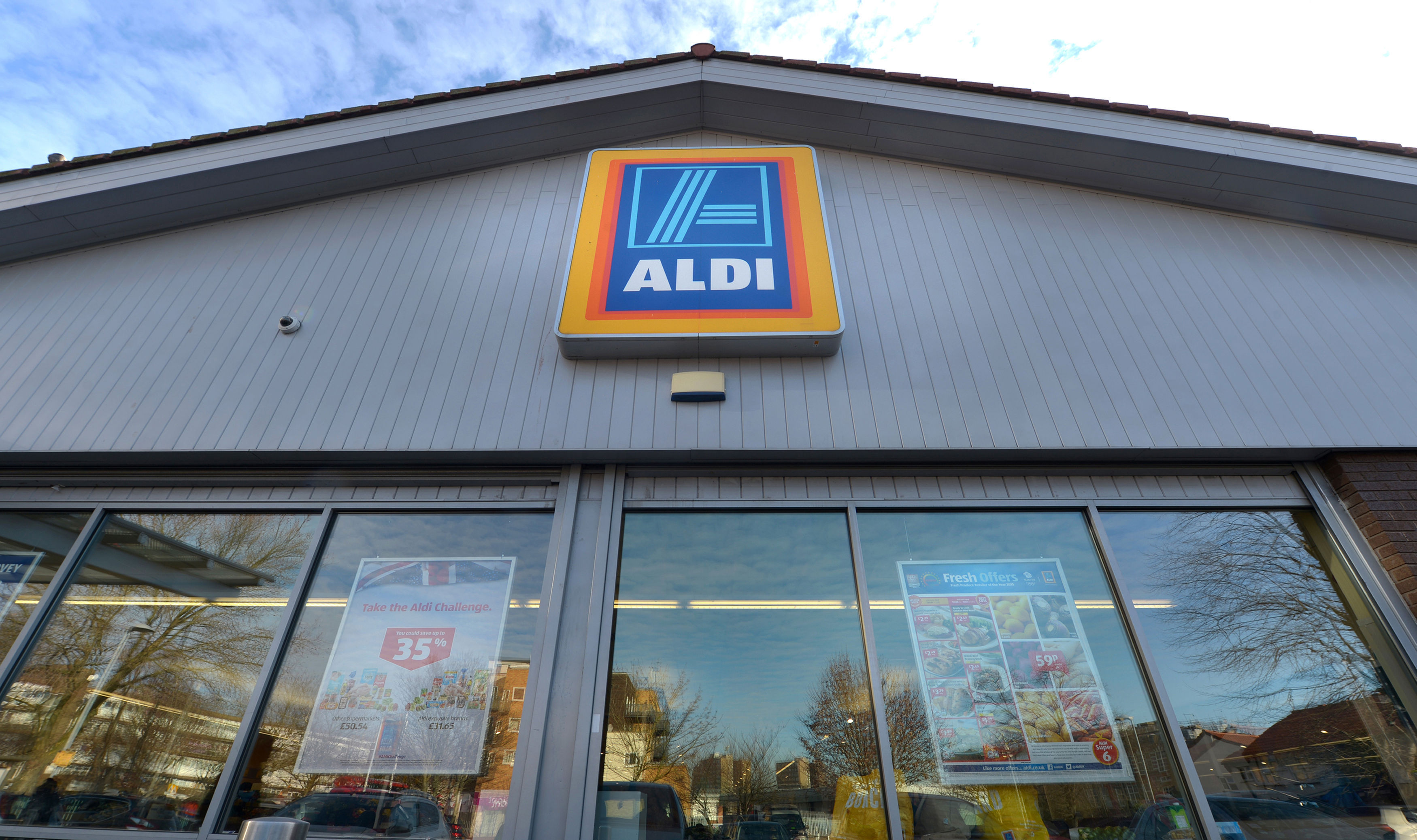 Aldi has overtaken the Co-operative to become Britain's fifth largest grocer, according to new figures. (Anthony Devlin/PA Wire)