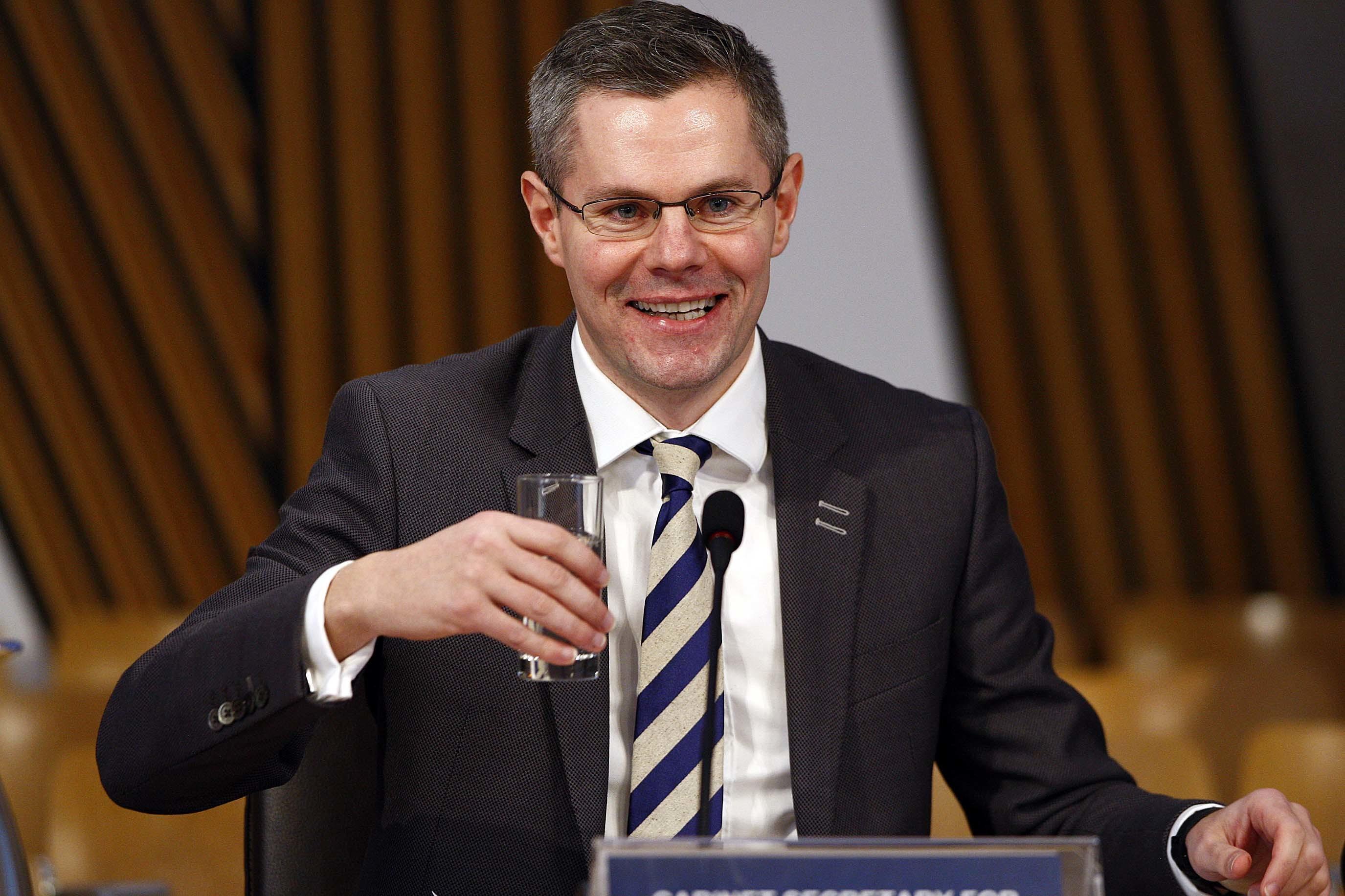 Derek Mackay, Cabinet Secretary for Finance (Andrew Cowan/Scottish Parliament)