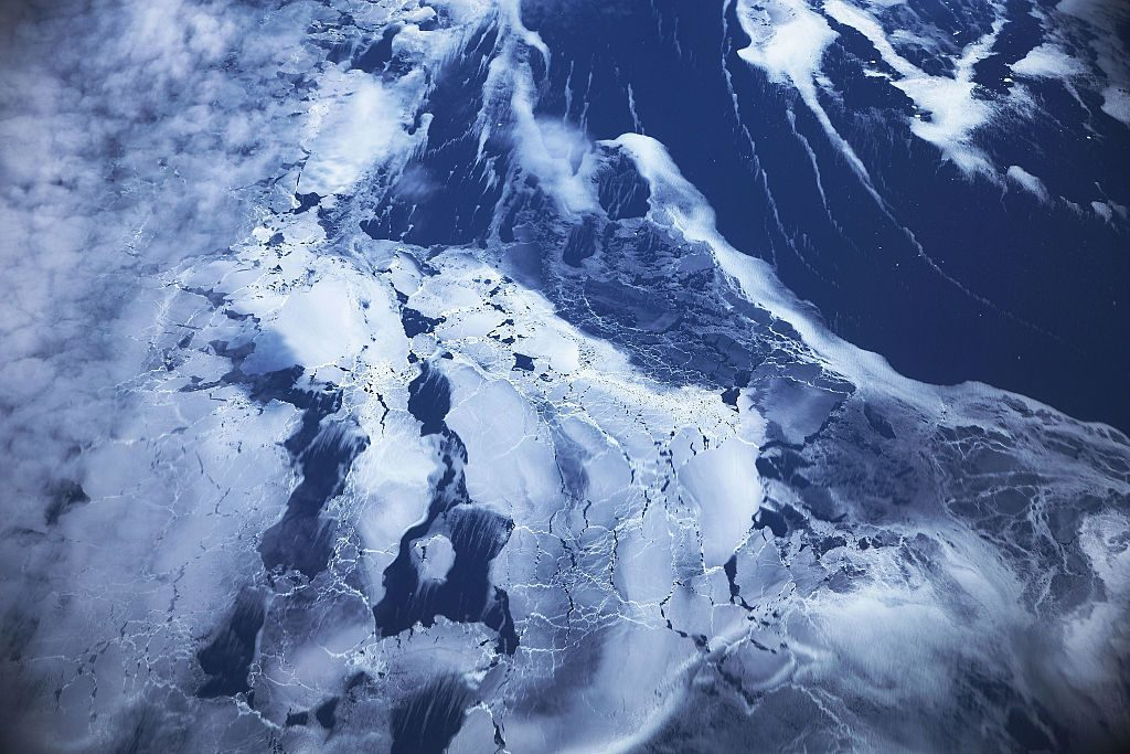 Ice floats near the coast of West Antarctica (Mario Tama/Getty Images)