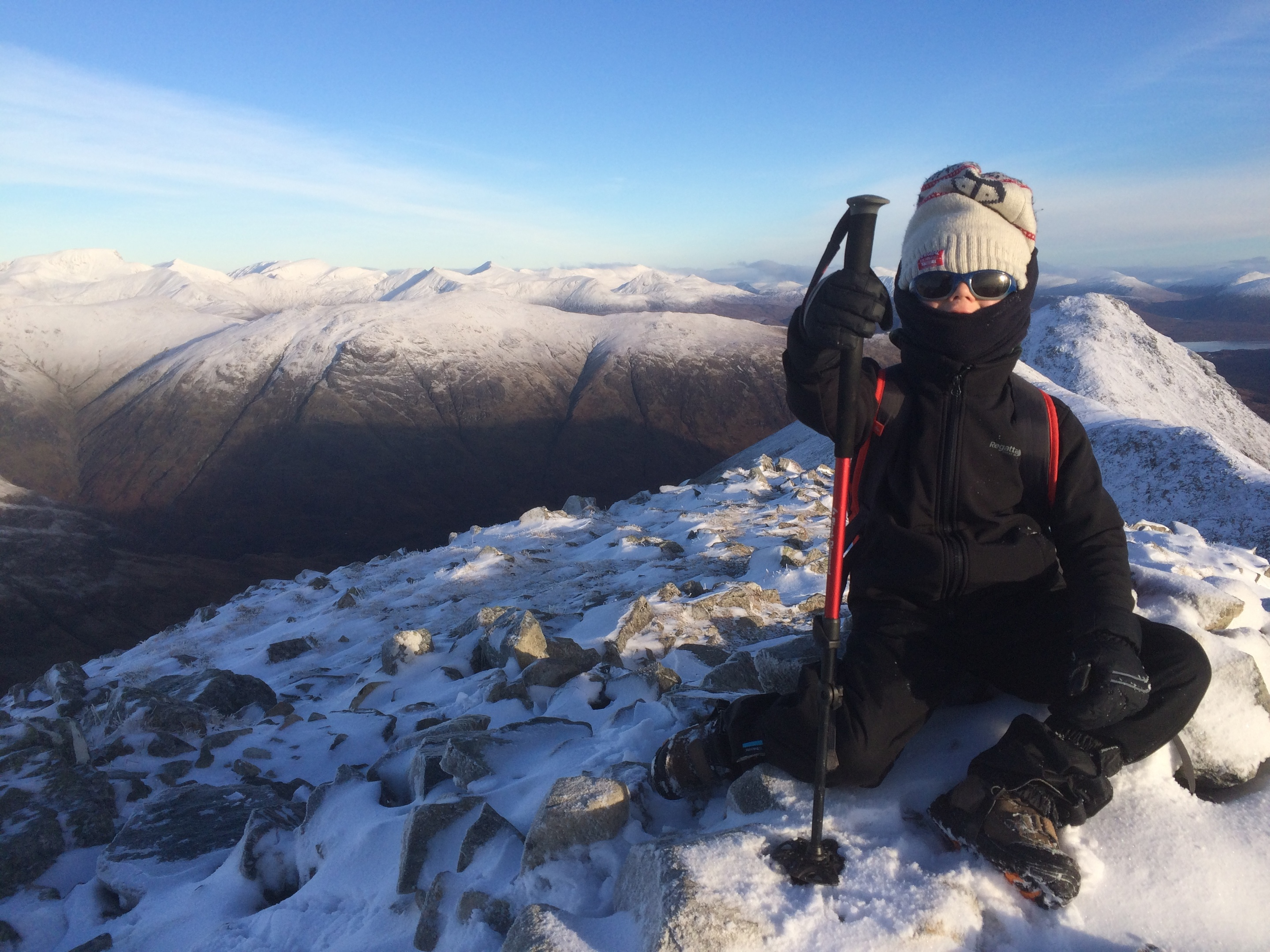 Marcus Tinley at one of the summits