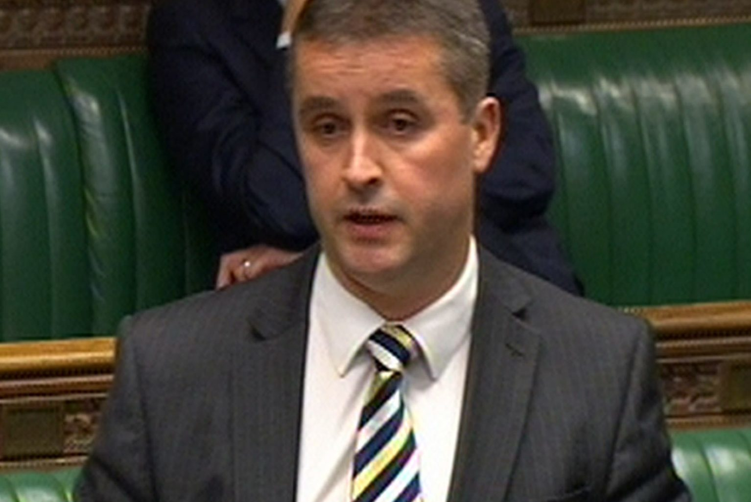 SNP MP Angus MacNeil speaks during a debate on devolution within the UK in the House of Commons, London. (PA)
