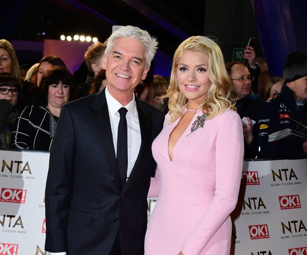 Phillip Schofield and Holly Willoughby arriving at the National Television Awards (Ian West/PA Wire)