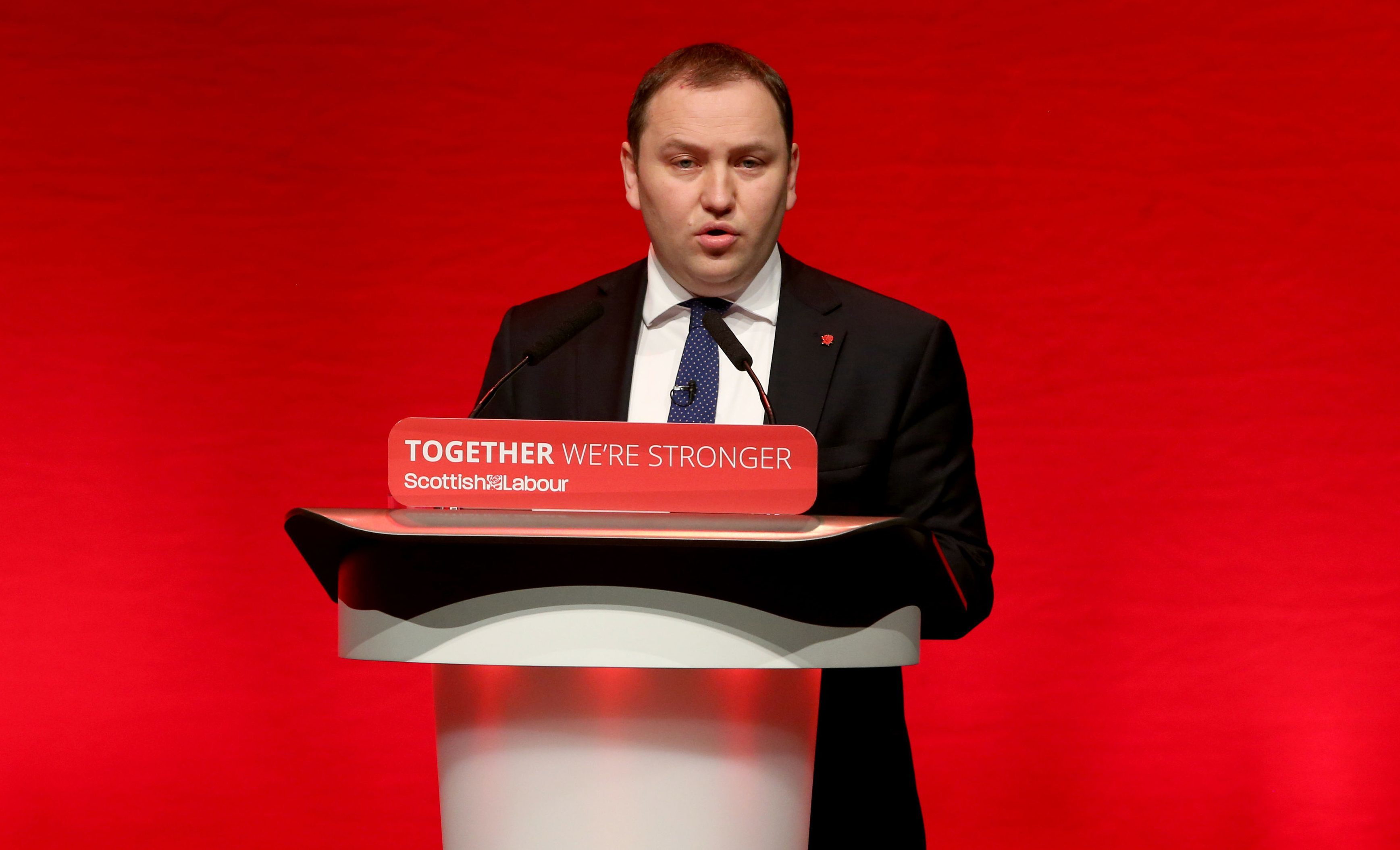 Labour MP Ian Murray speaks at the party's Scottish conference (Andrew Milligan/PA Wire)