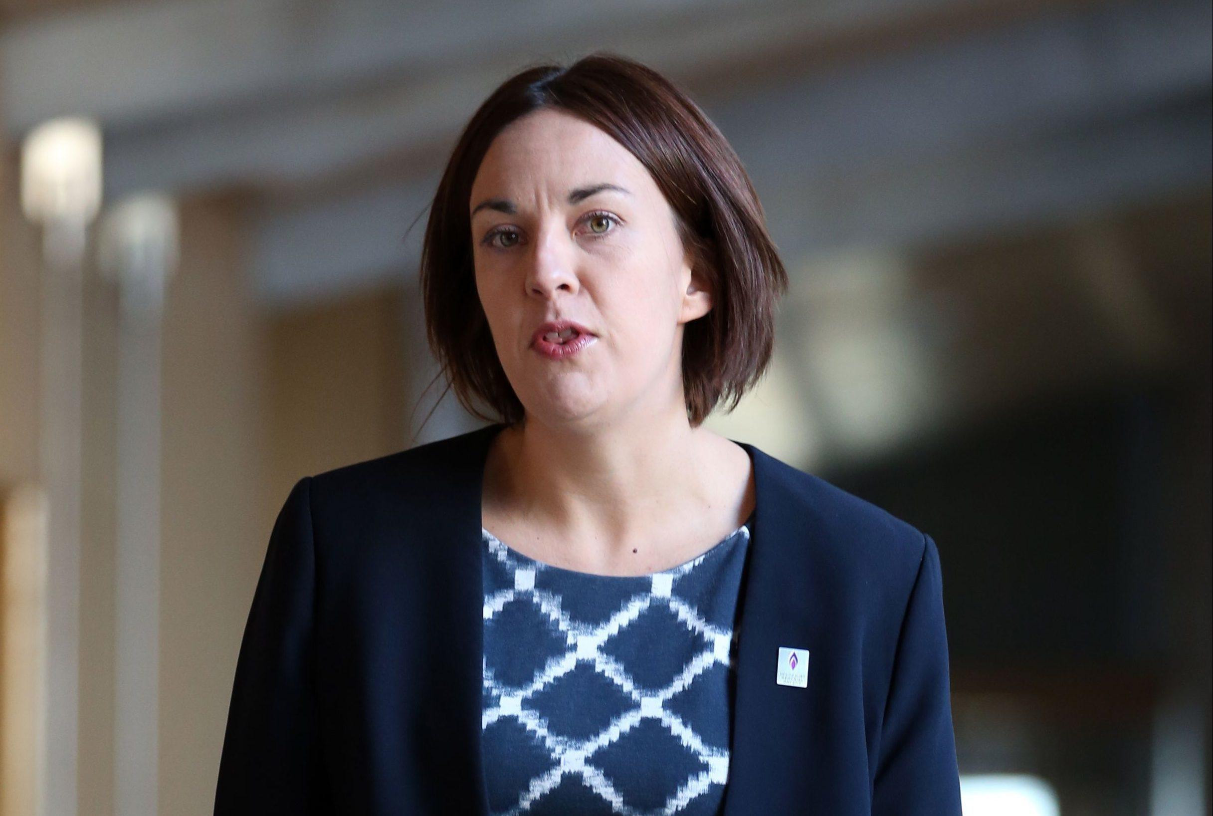 Scottish Labour leader Kezia Dugdale has reached to Patrick Harvie (Jane Barlow/PA Wire)