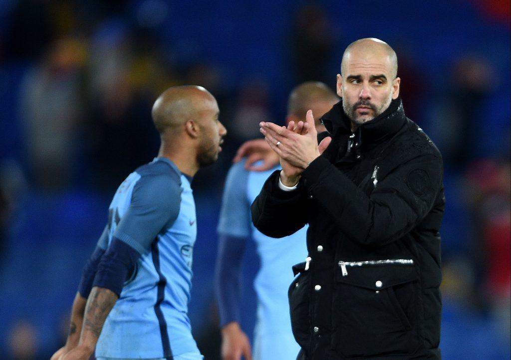 Manchester City manager Pep Guardiola Daniel Hambury/PA Wire.)