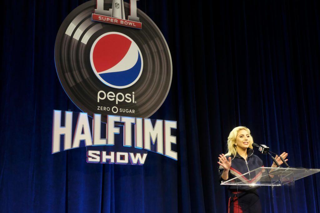 Lady Gaga ahead of the Super Bowl LI Halftime Show (Frazer Harrison/Getty Images)
