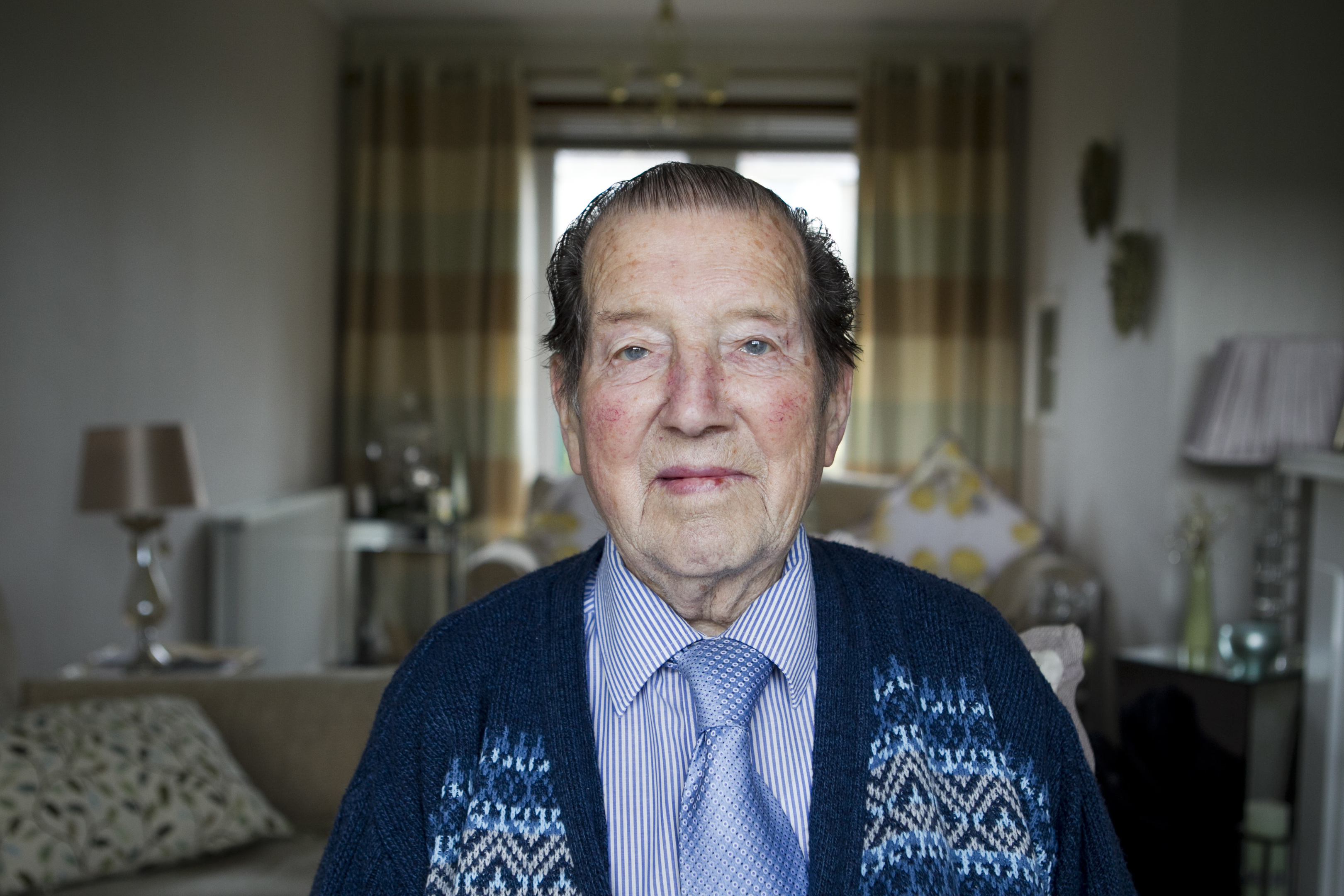 RAF veteran WWII bomber, John Galloway (Andrew Cawley / DC Thomson)
