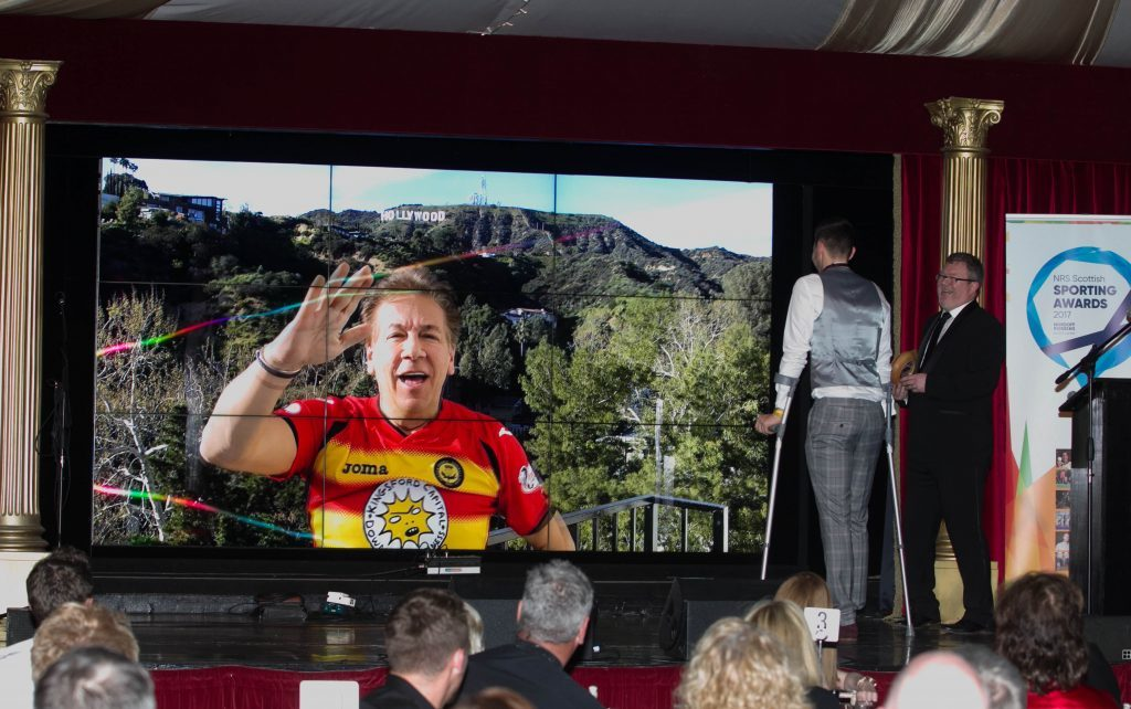 Our columnist and Partick fan Ross King had a special message for the amputee team (Chris Austin / DC Thomson)