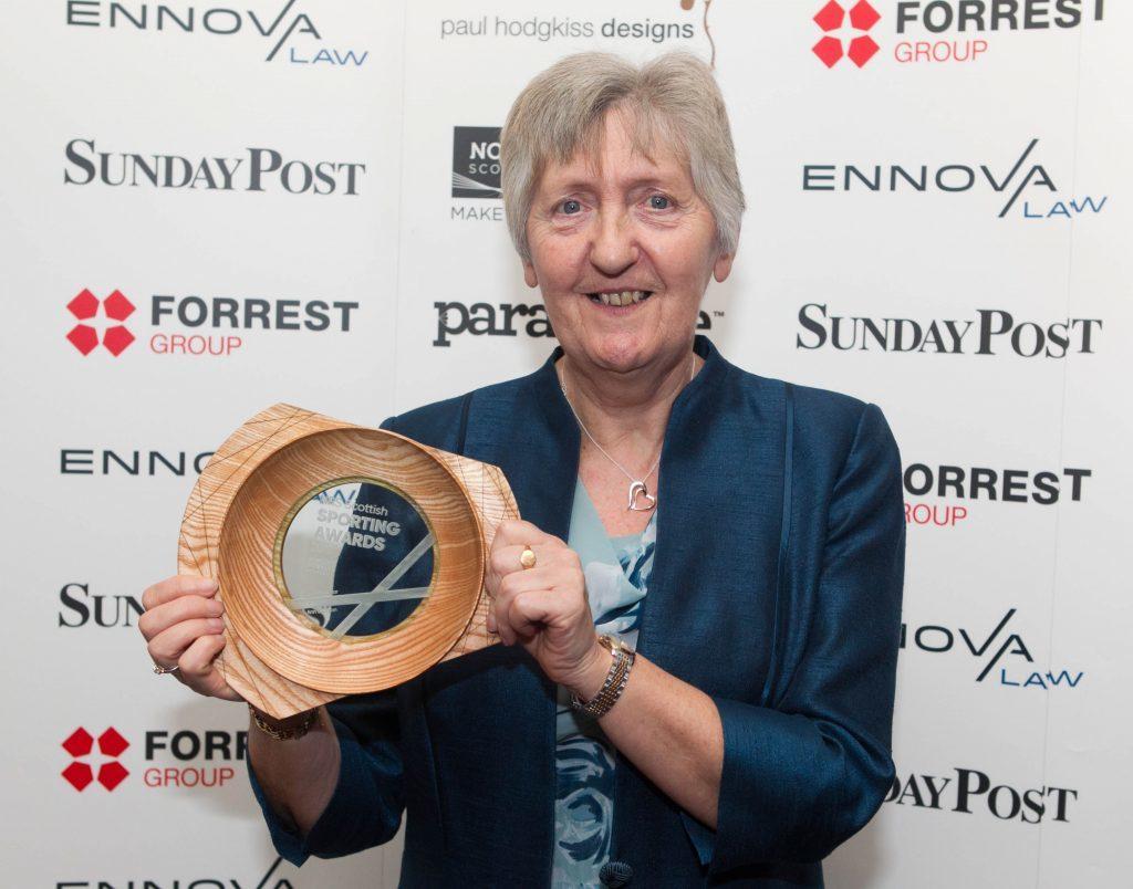 Ann Dickson wins Coach of the Year (Chris Austin / DC Thomson)