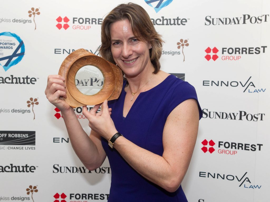 Dame Katherine Granger won the Outstanding Contribution to Sport Award (Chris Austin / DC Thomson)