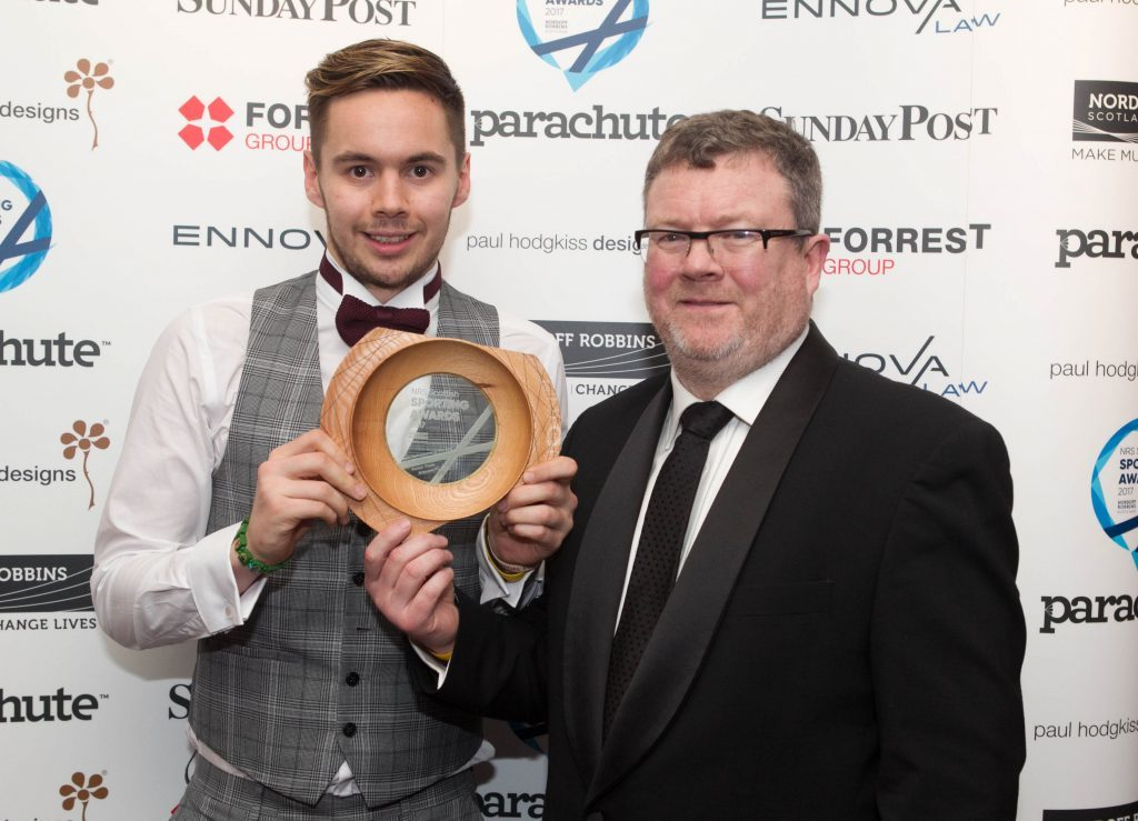 Team Performance of The Year goes to Patrick Thistle Amputee FC (Chris Austin / DC Thomson)