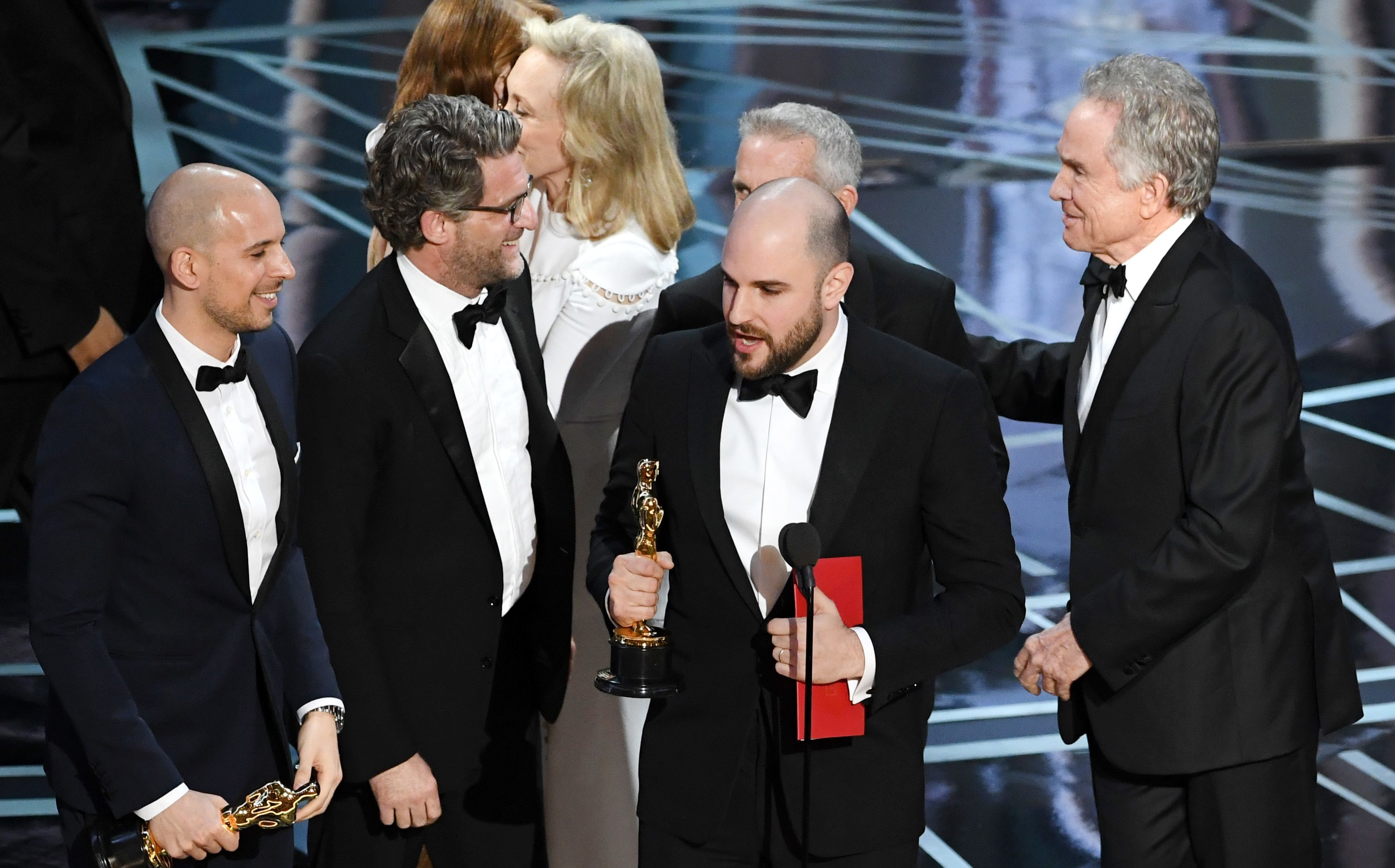 The moment that will go down in Oscars history (Kevin Winter/Getty Images)
