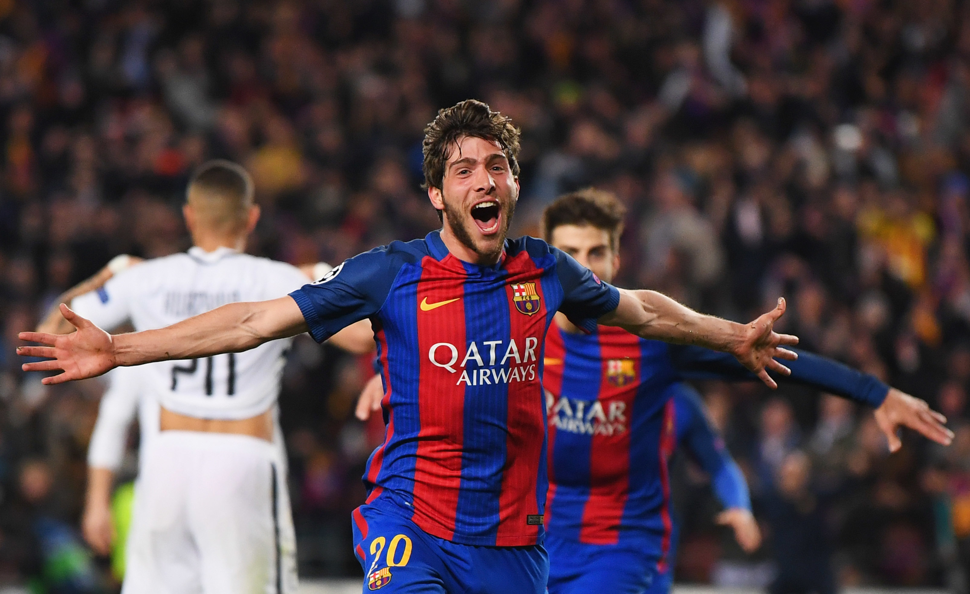 Sergi Roberto scored the sixth goal (Laurence Griffiths/Getty Images)