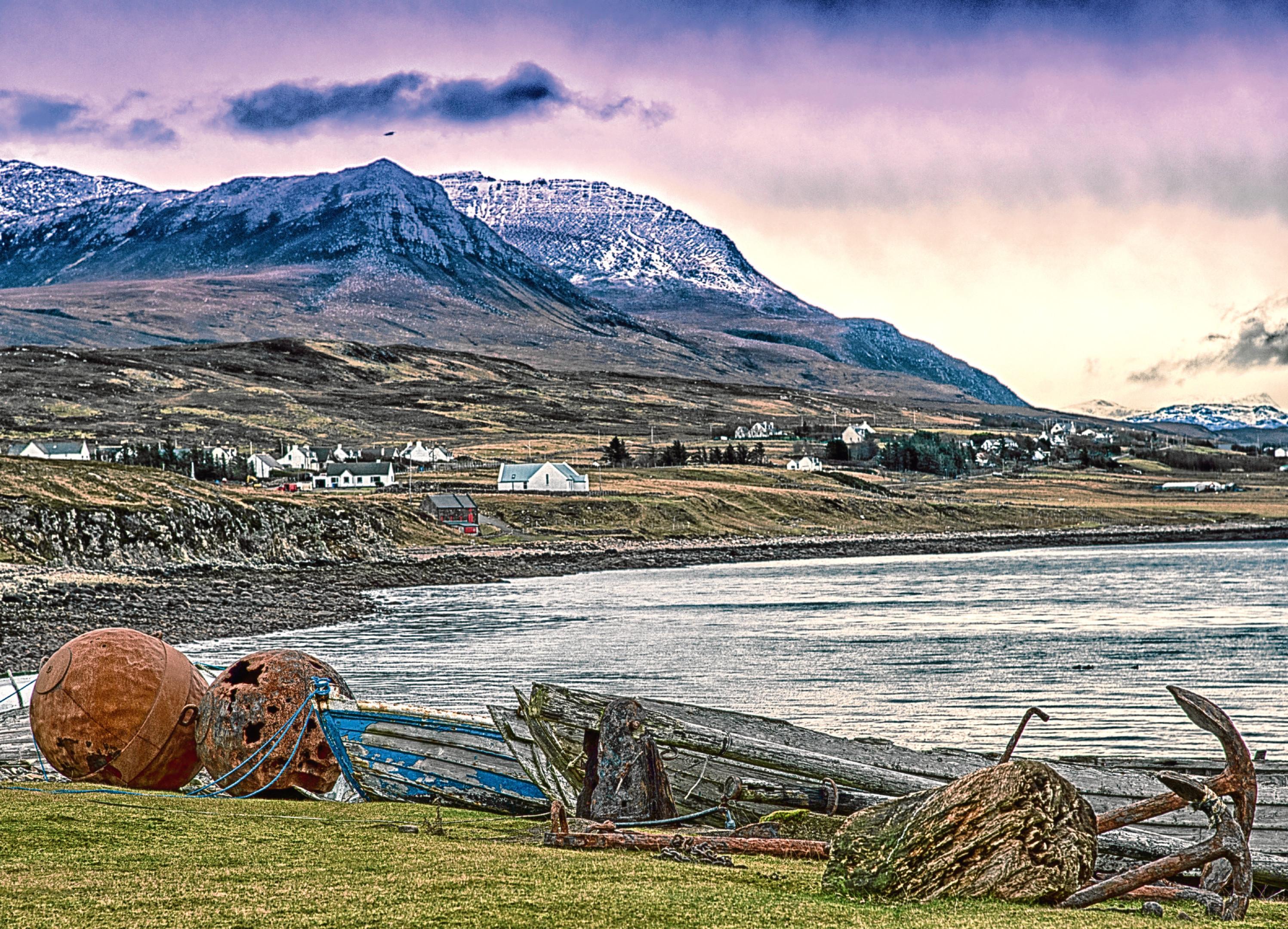 Achiltibuie, Scottish Highlands.
