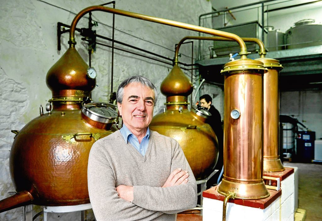 Tony Reeman-Clark from Strathearn Distillery (Scottish Craft Distillers Association /Colin Hattersley Photography)