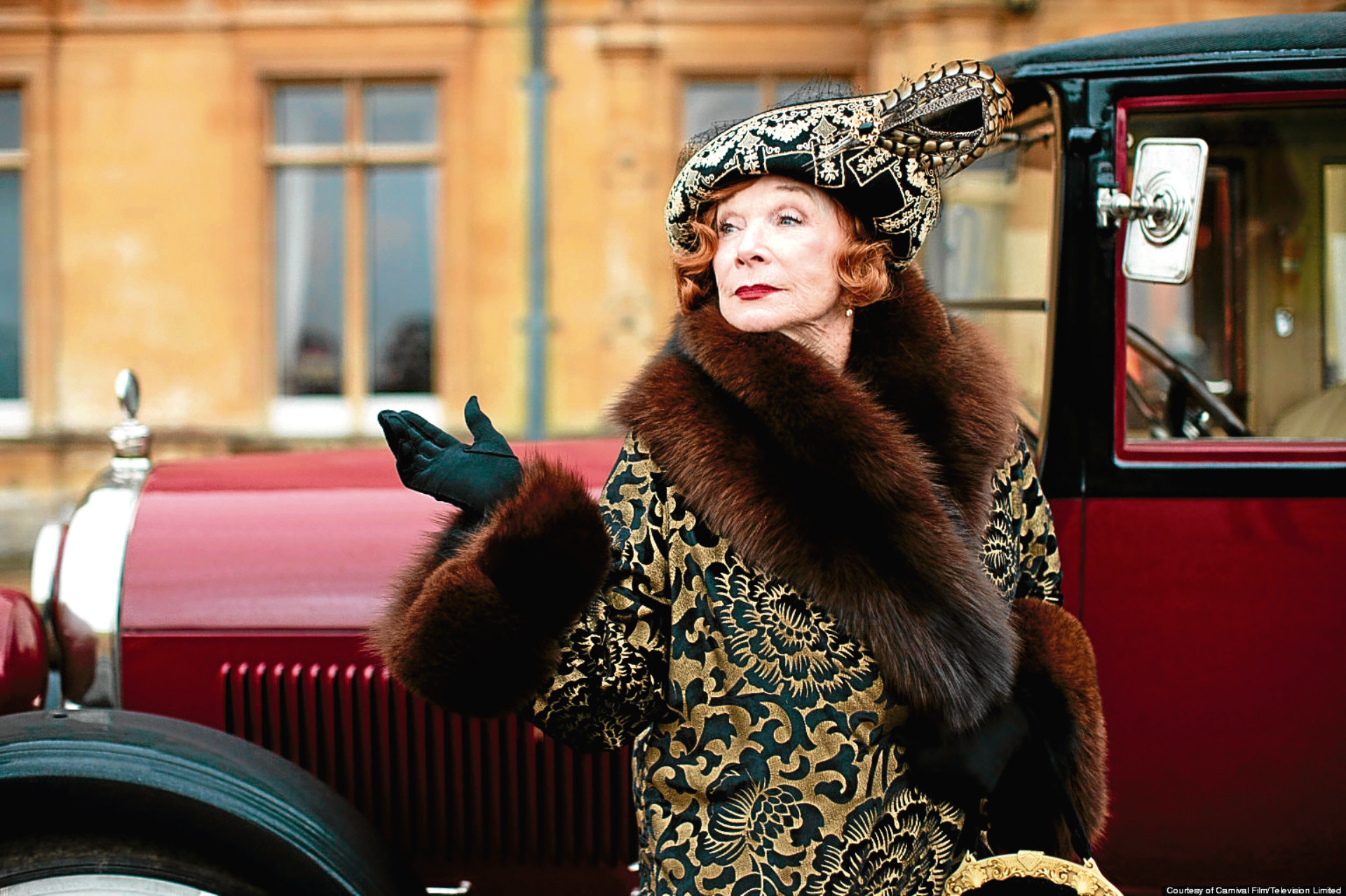 Shirley MacLaine in Downton Abbey (Carnival Film)